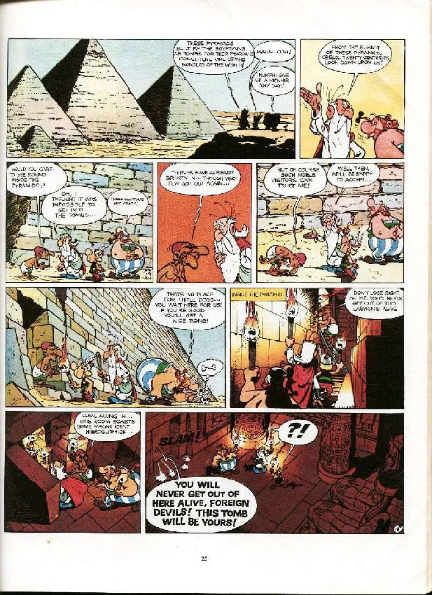 Read online Asterix comic -  Issue #6 - 20