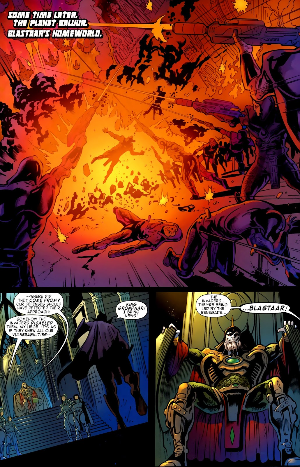 War of Kings: Warriors Issue #1 #1 - English 24