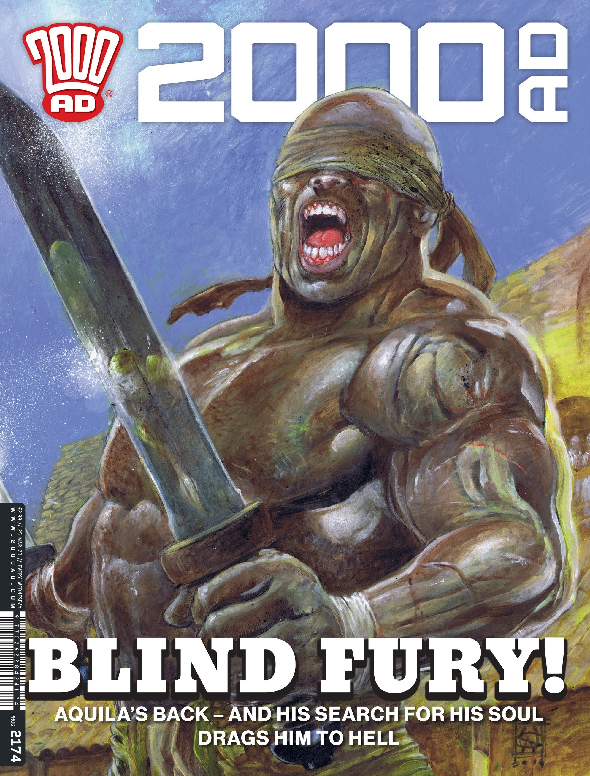 2000 AD issue 2174 - Page 1