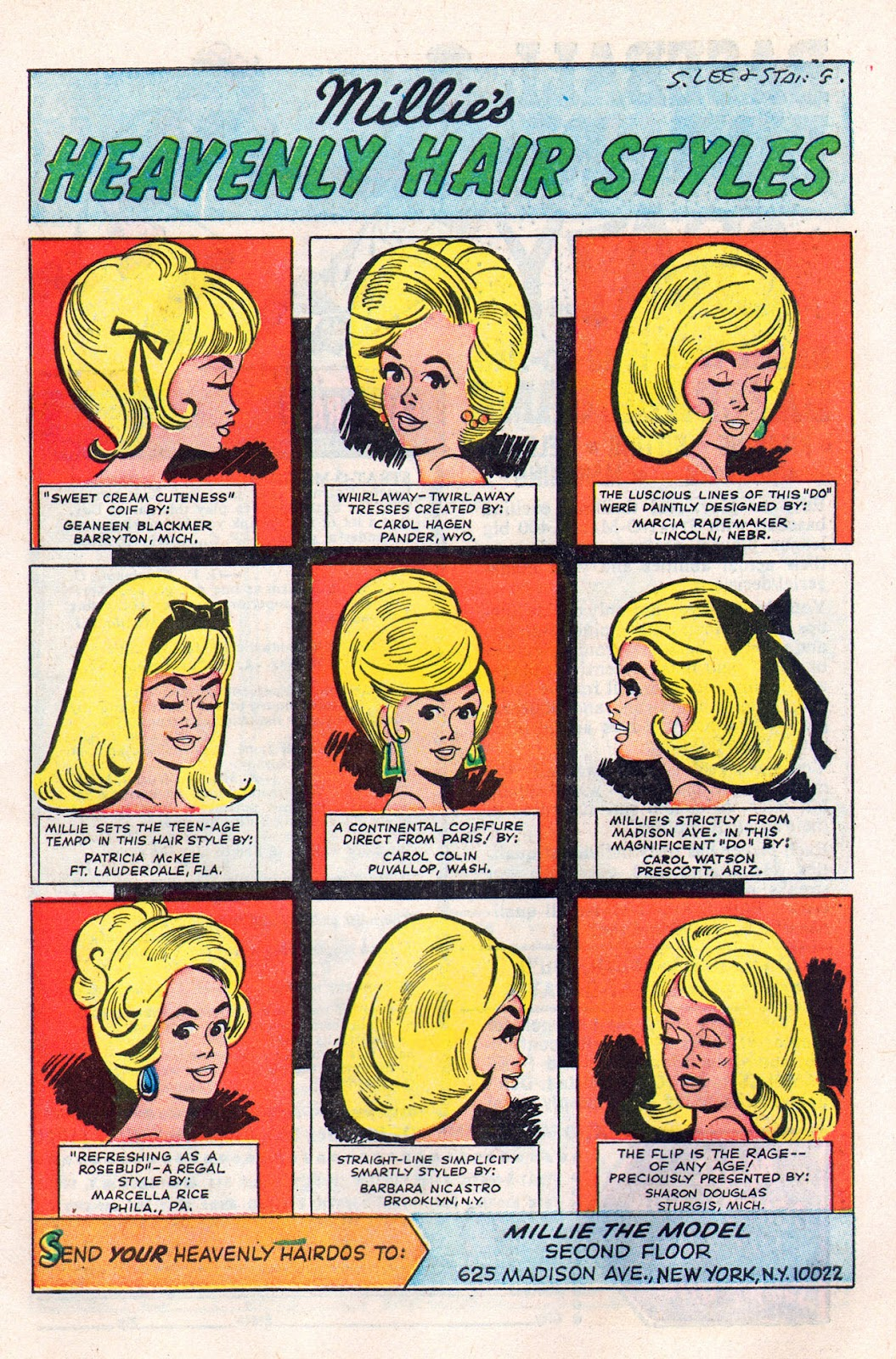 Read online Millie the Model comic -  Issue # Annual 6 - 39