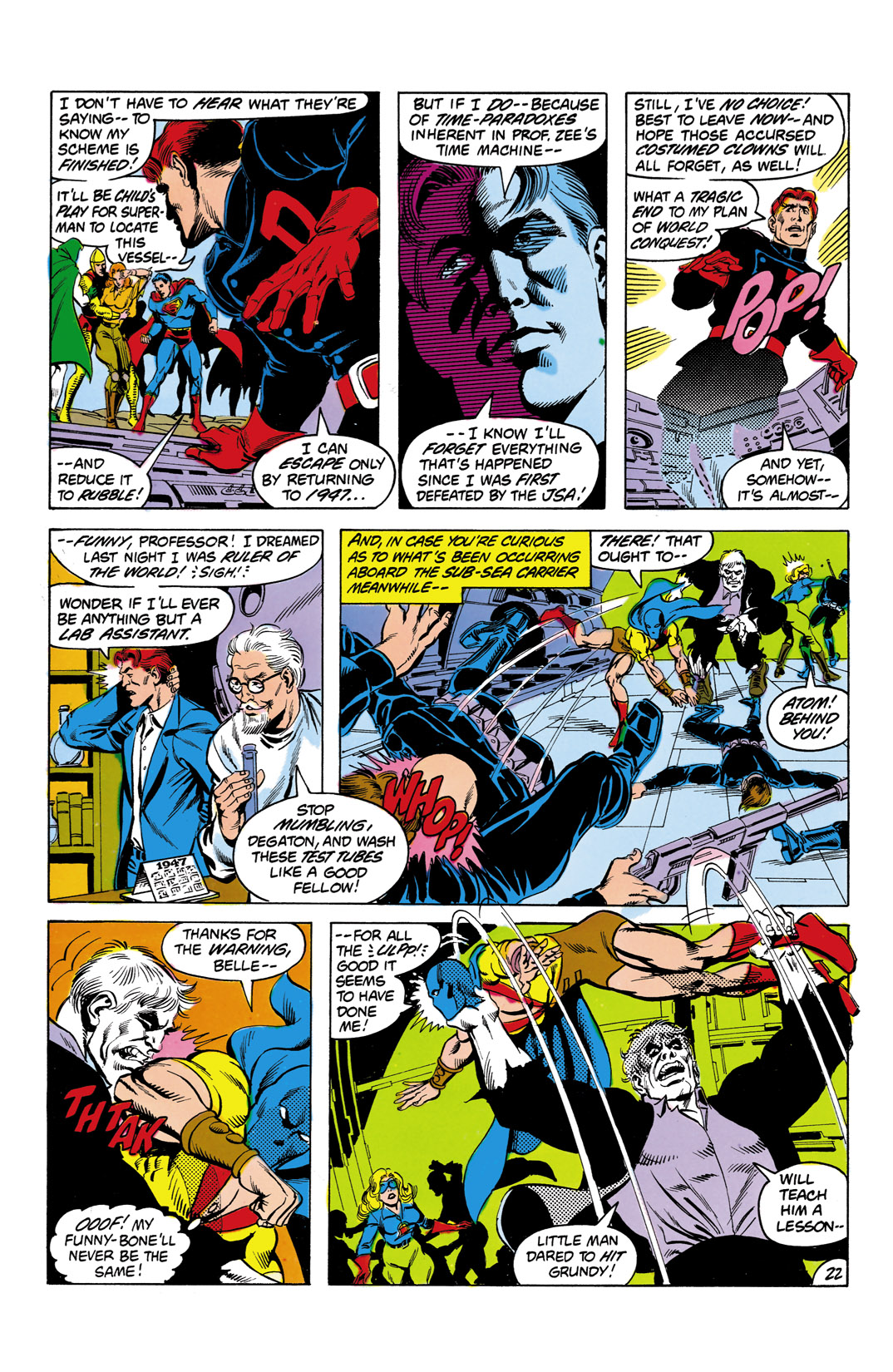 Read online All-Star Squadron comic -  Issue #3 - 23