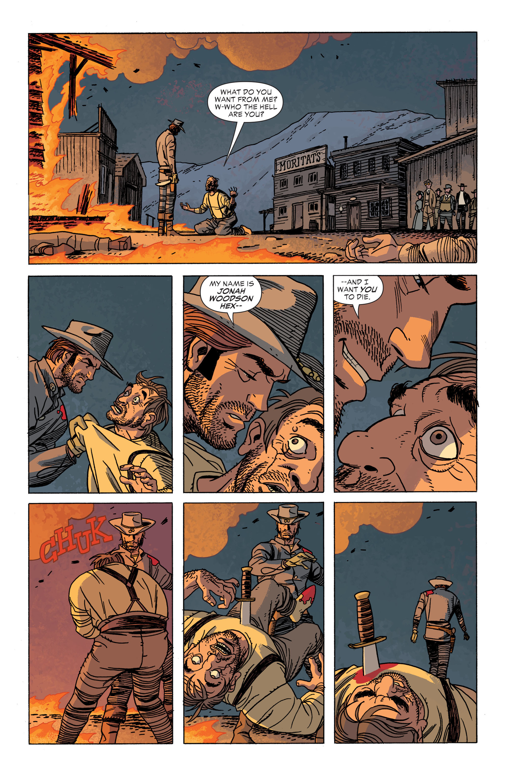Read online All-Star Western (2011) comic -  Issue #34 - 17