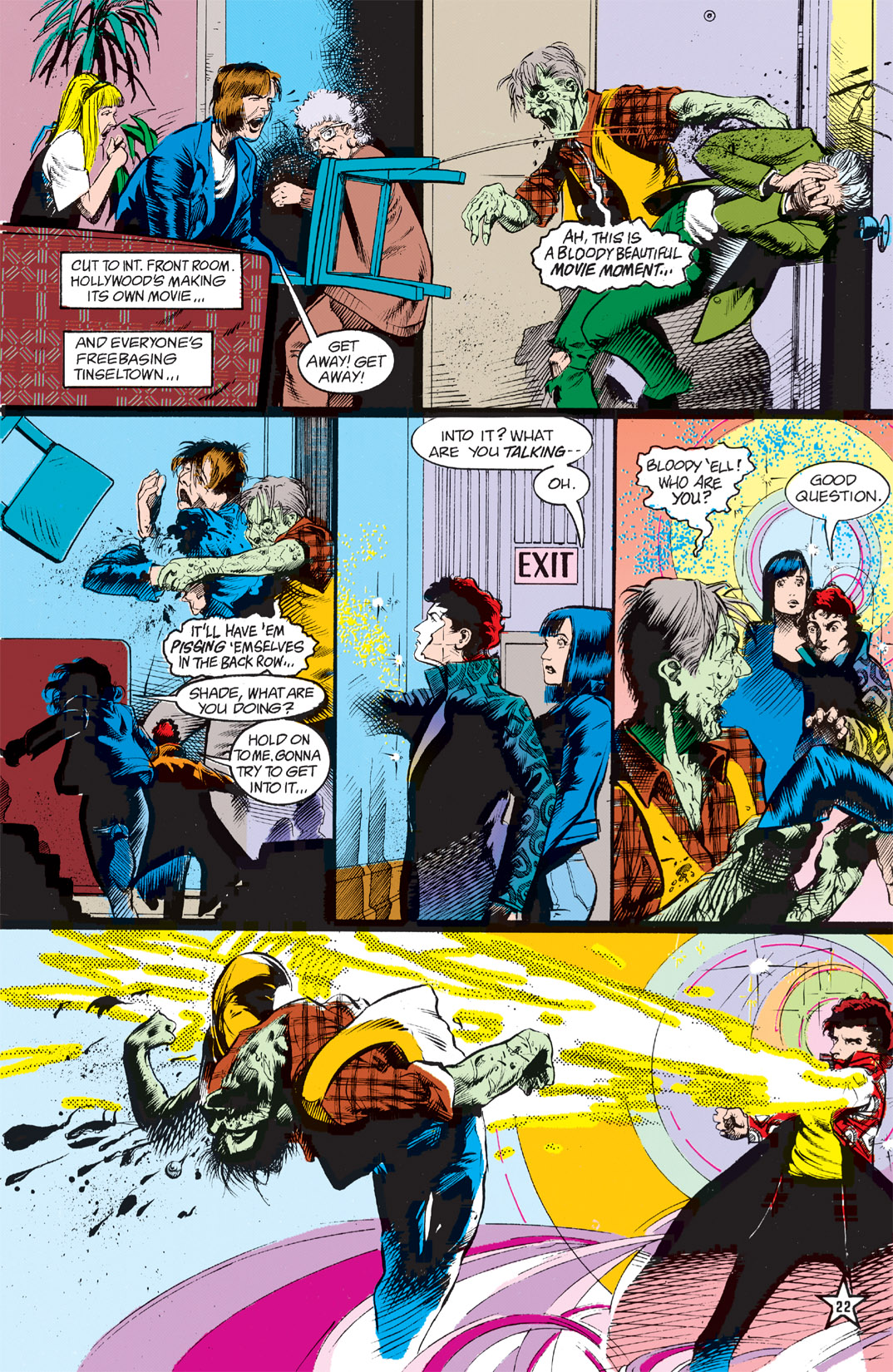 Read online Shade, the Changing Man comic -  Issue #5 - 24