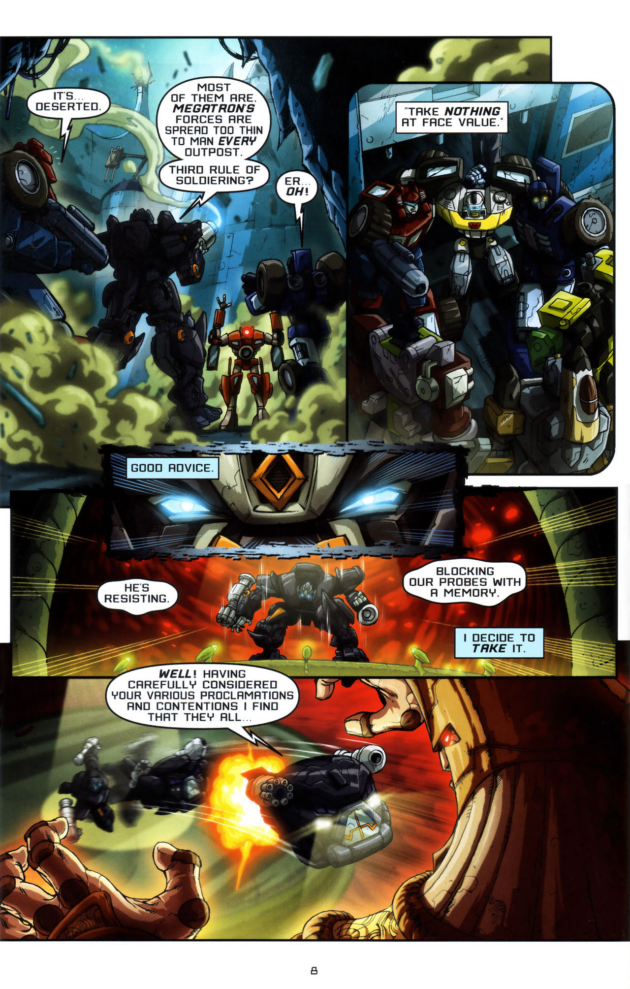 Read online Transformers: Saga of the Allspark comic -  Issue #3 - 11