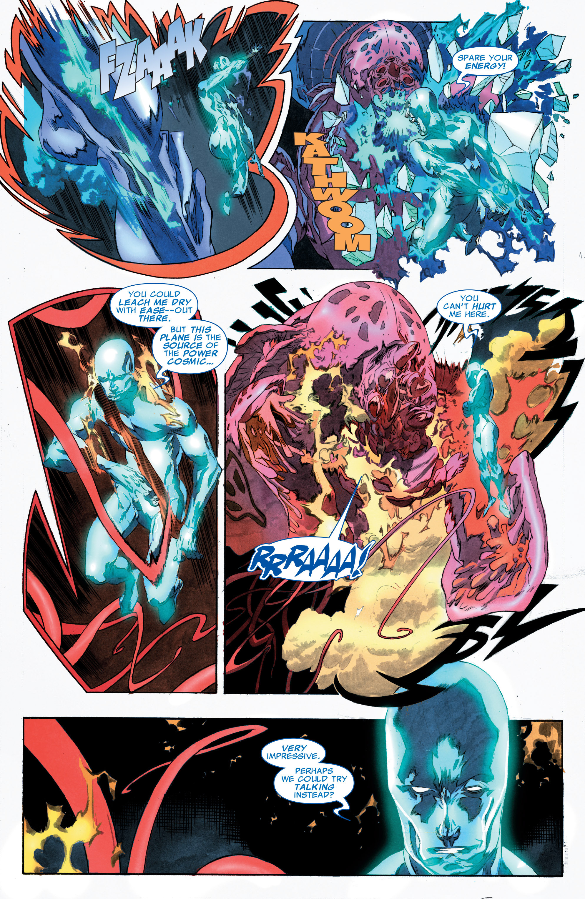 Read online Silver Surfer: In Thy Name comic -  Issue #3 - 11