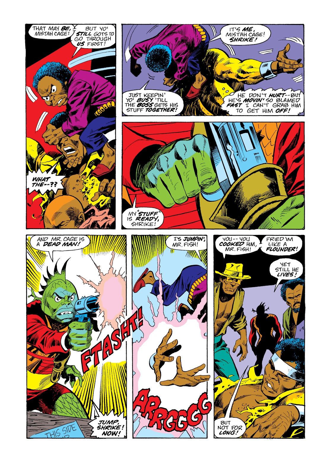 Read online Marvel Masterworks: Luke Cage, Power Man comic -  Issue # TPB 2 (Part 3) - 48