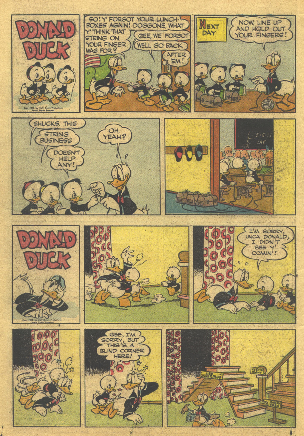 Walt Disney's Comics and Stories issue 86 - Page 38