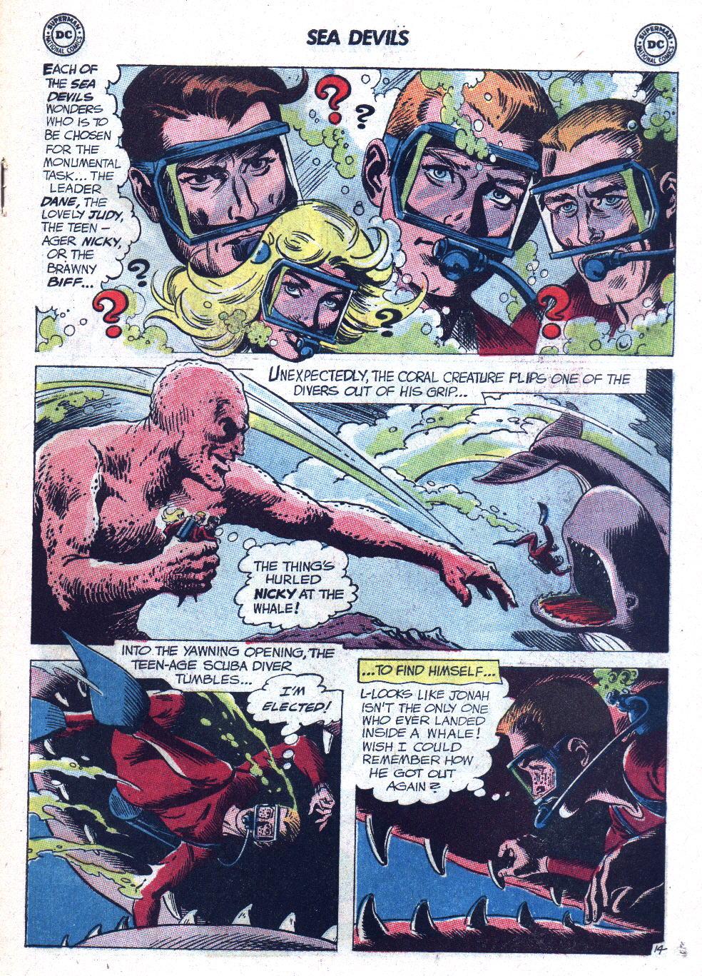 Read online Sea Devils comic -  Issue #9 - 20