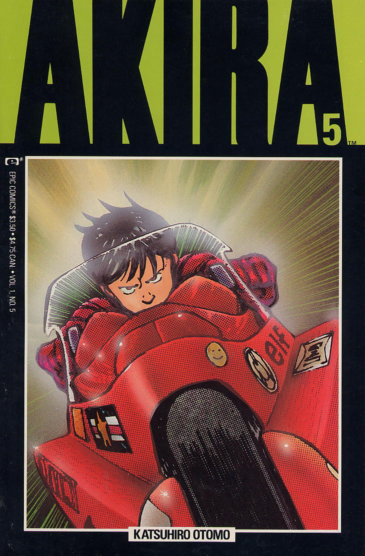 Read online Akira comic -  Issue #5 - 1