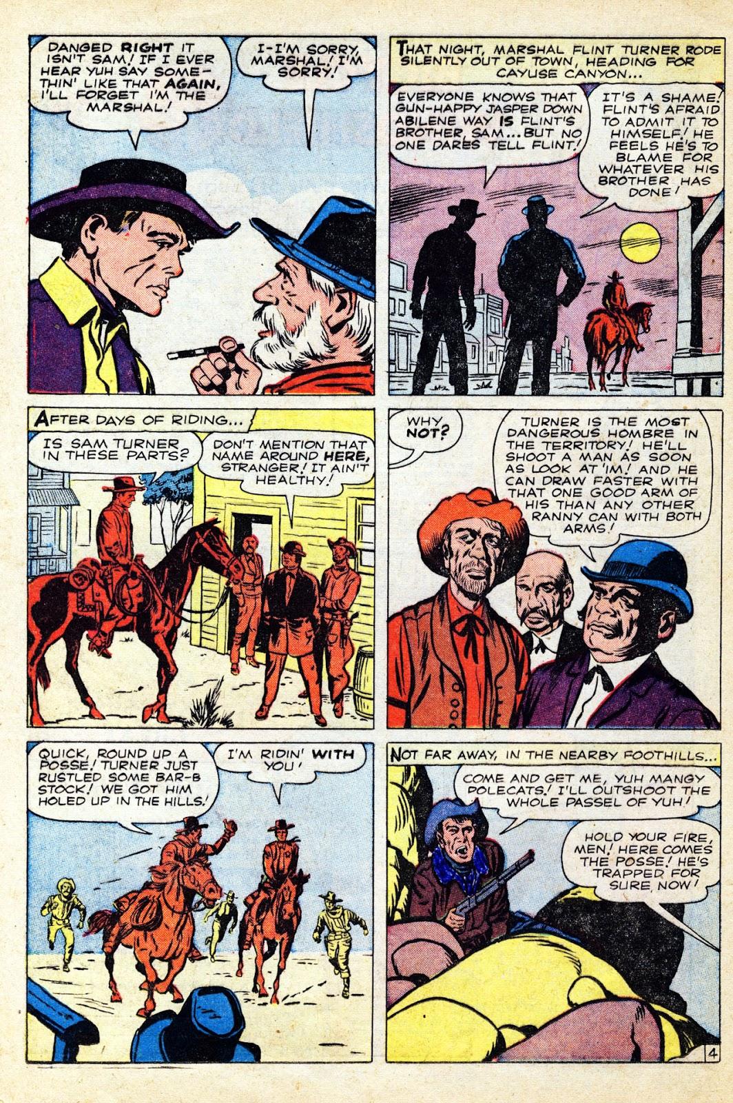 Gunsmoke Western issue 65 - Page 16