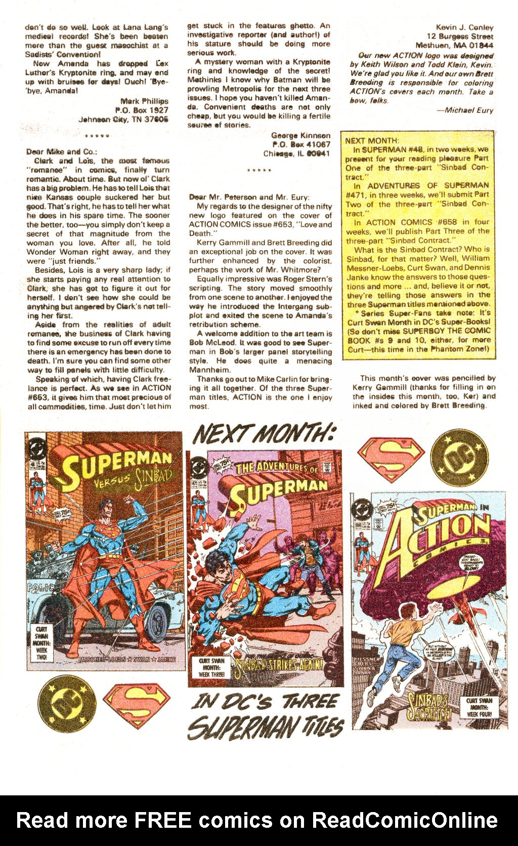 Read online Action Comics (1938) comic -  Issue #657 - 25