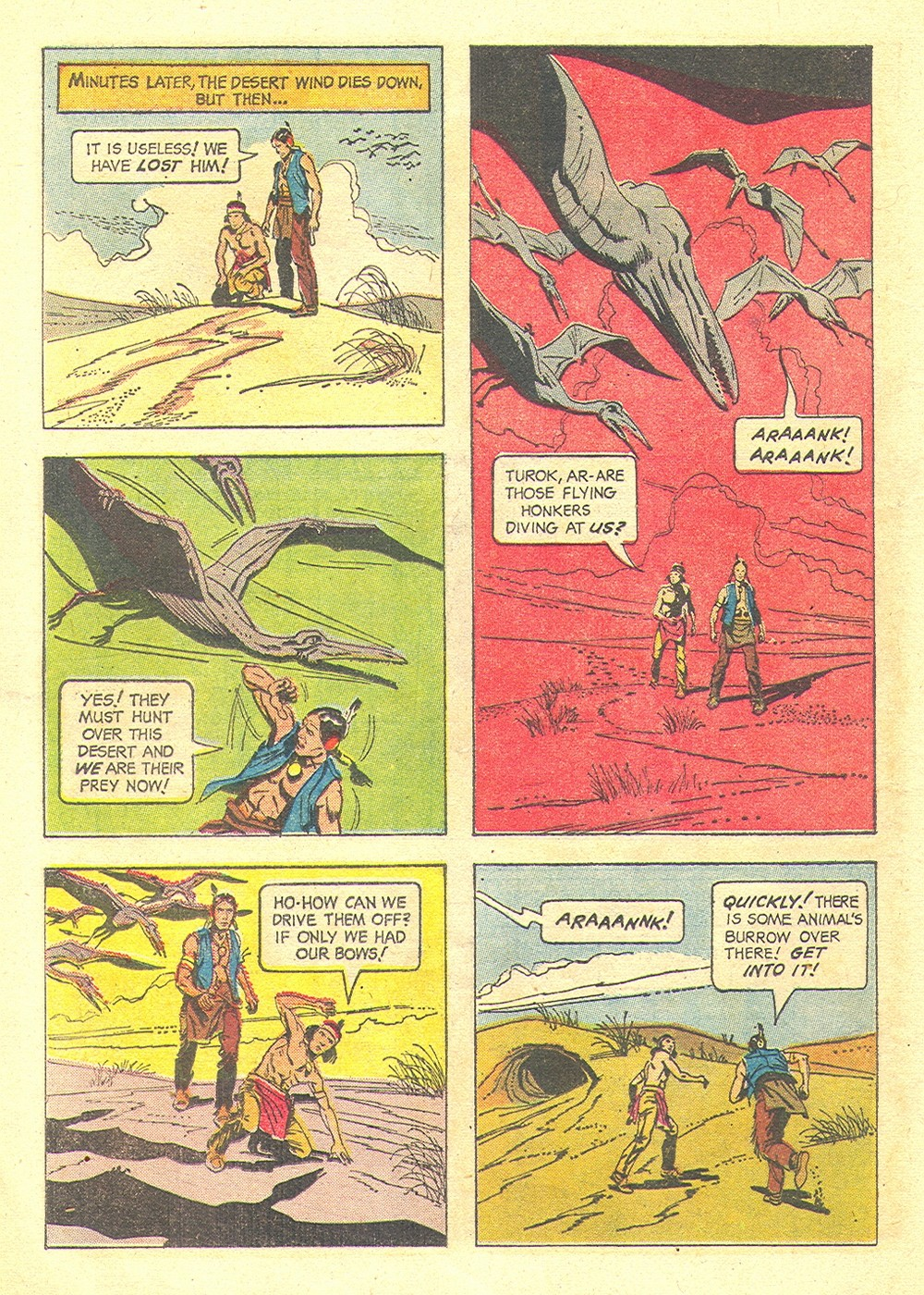Read online Turok, Son of Stone comic -  Issue #35 - 28