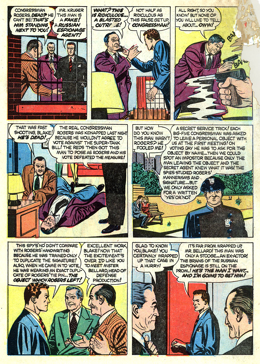 Kent Blake of the Secret Service issue 1 - Page 6