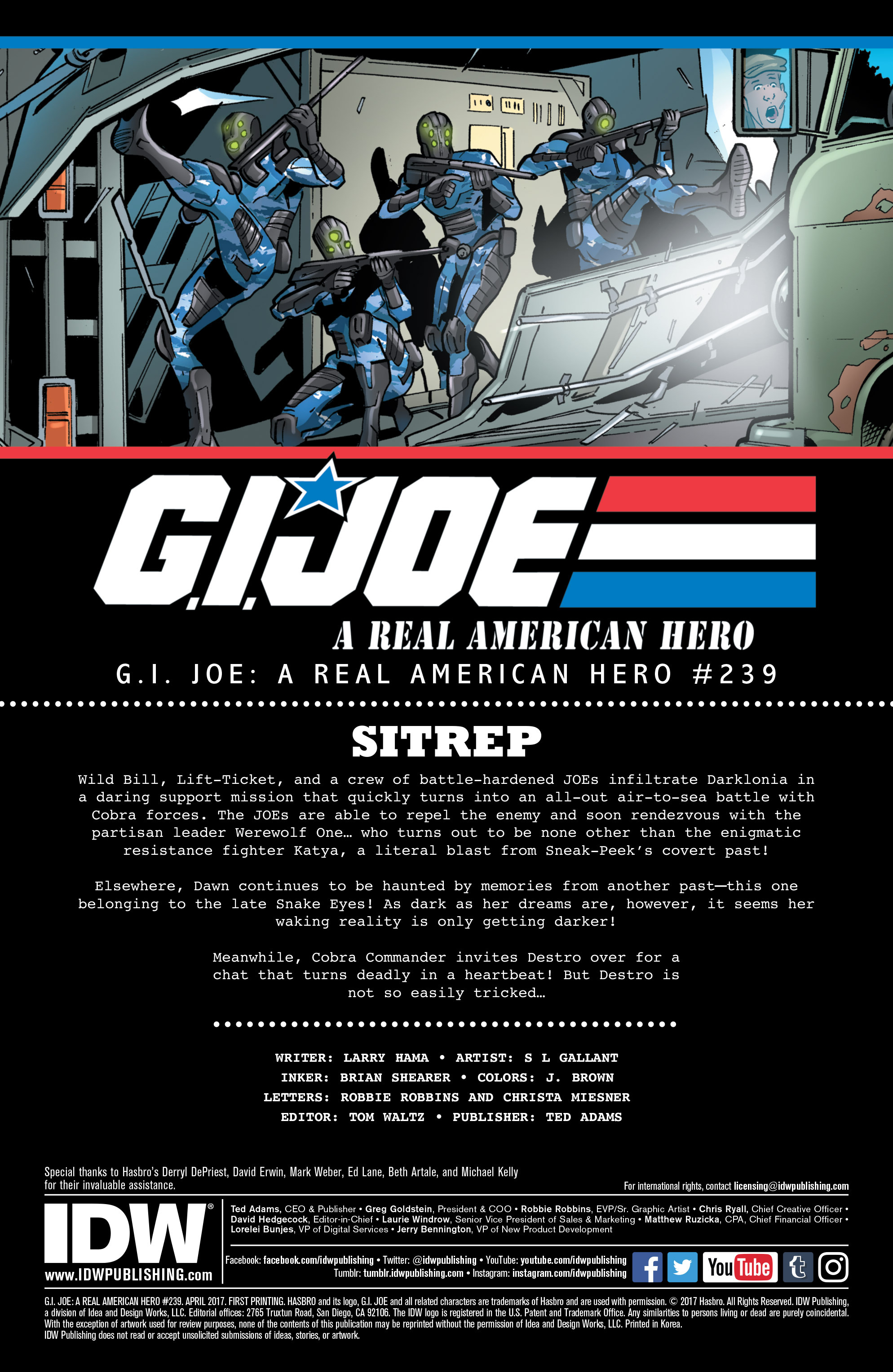 Read online G.I. Joe: A Real American Hero comic -  Issue #239 - 2