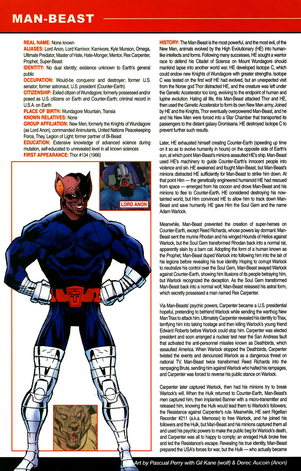 Read online All-New Official Handbook of the Marvel Universe A to Z comic -  Issue #6 - 64