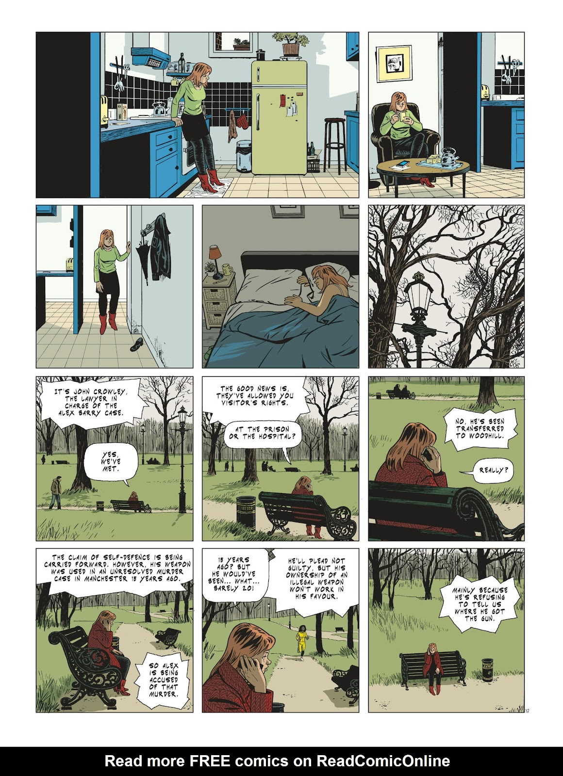 Read online Maggy Garrisson comic -  Issue #3 - 34