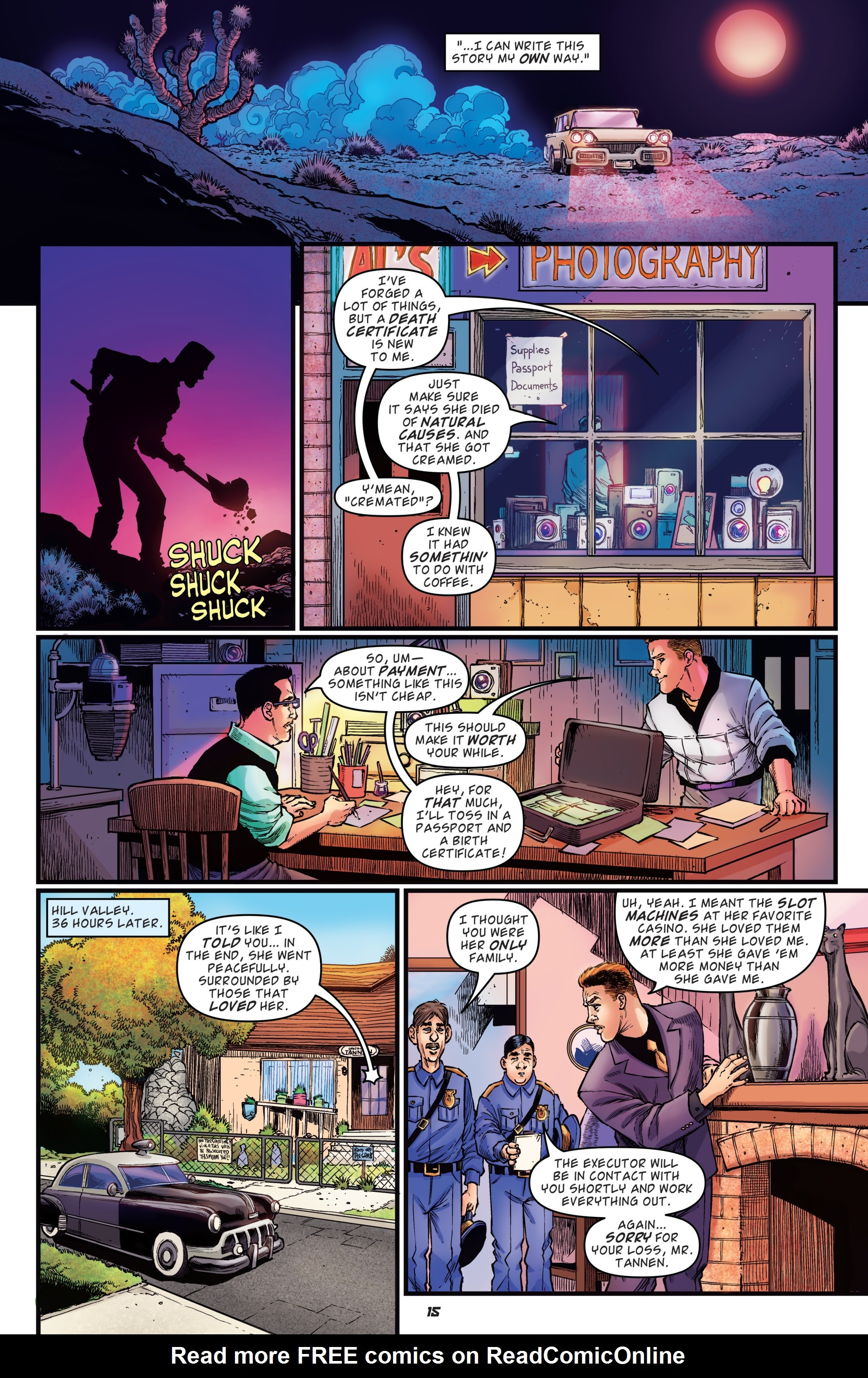 Read online Back to the Future: Biff to the Future comic -  Issue #1 - 17