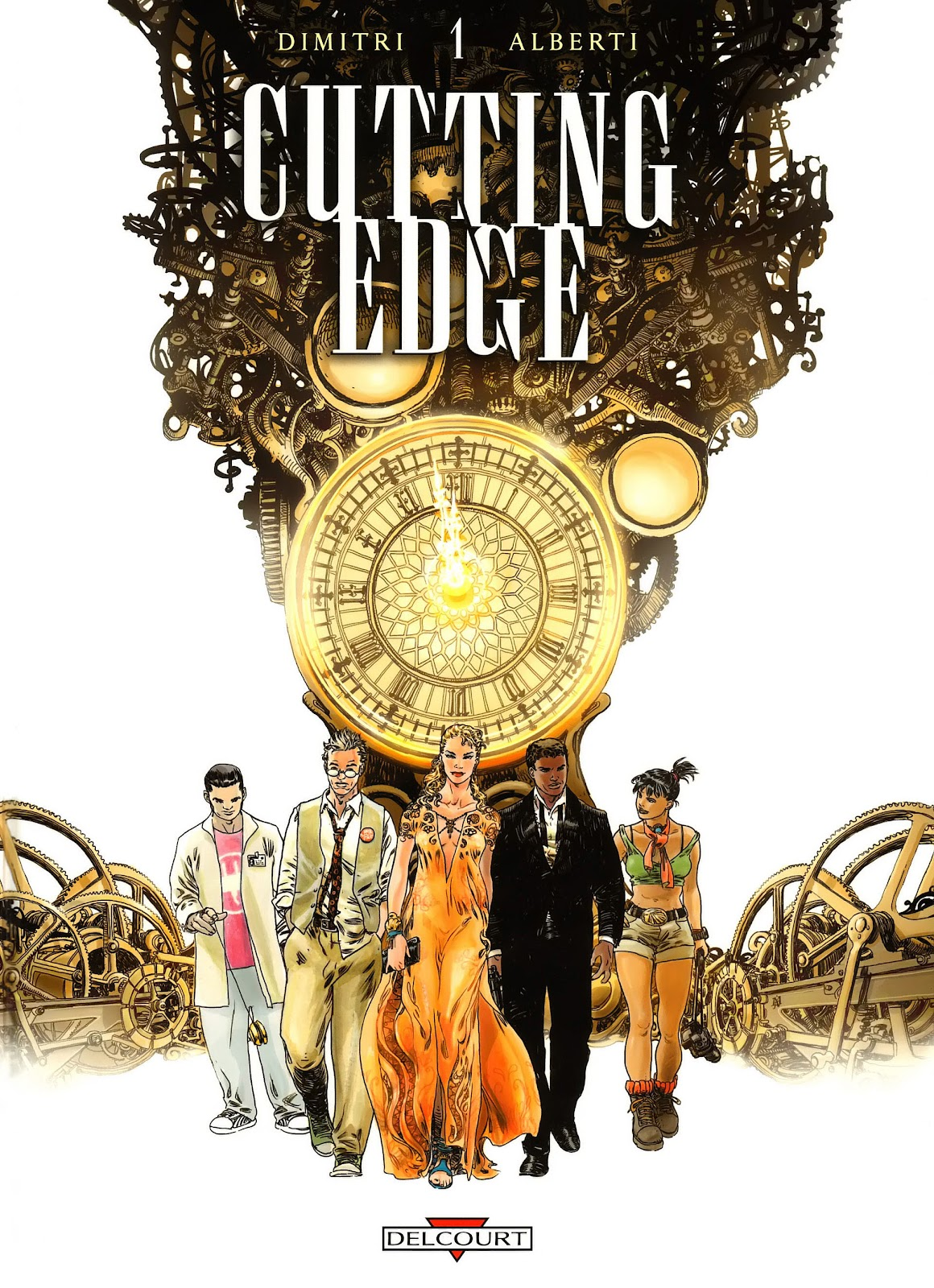 Read online Cutting Edge (2013) comic -  Issue #1 - 1
