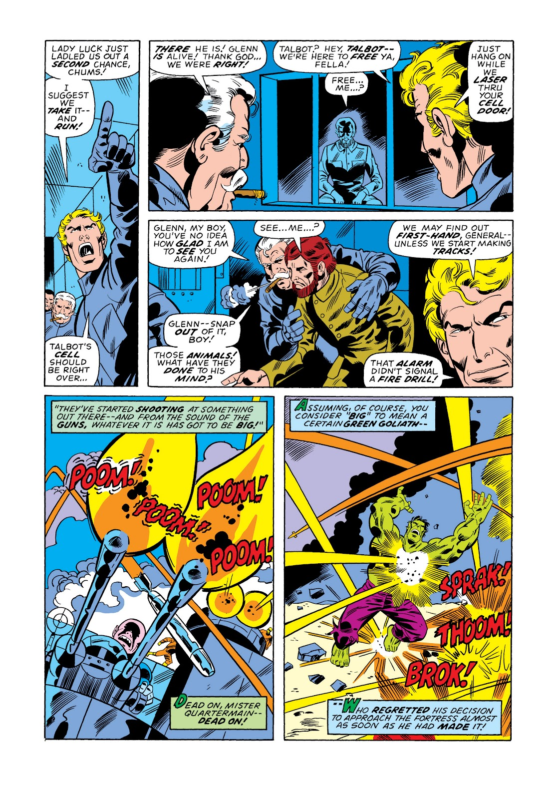 Read online Marvel Masterworks: The Incredible Hulk comic -  Issue # TPB 11 (Part 1) - 76