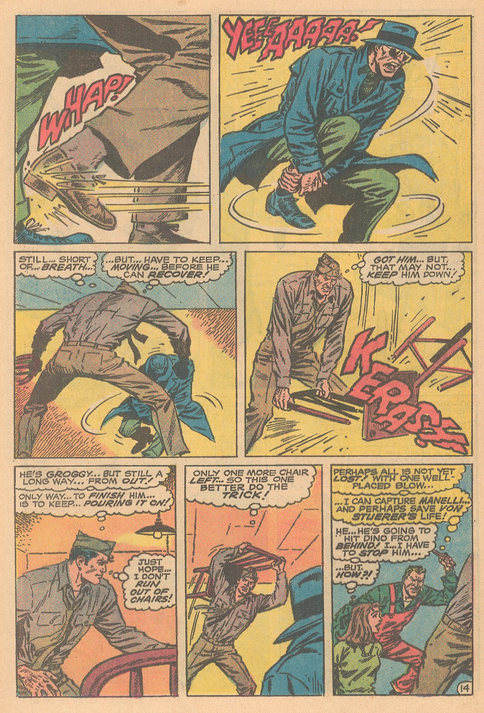Read online Sgt. Fury comic -  Issue #69 - 20
