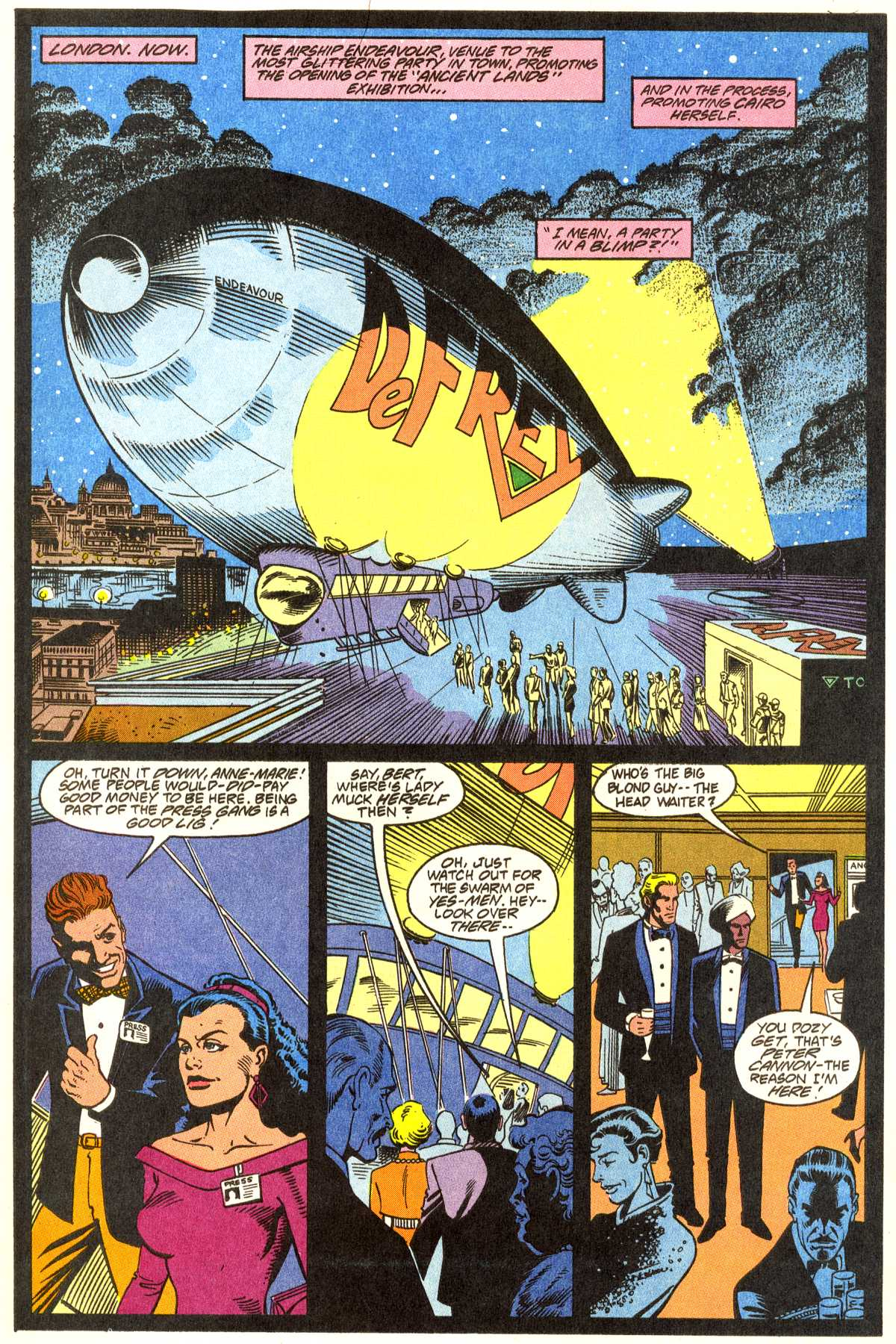 Read online Peter Cannon--Thunderbolt (1992) comic -  Issue #1 - 17