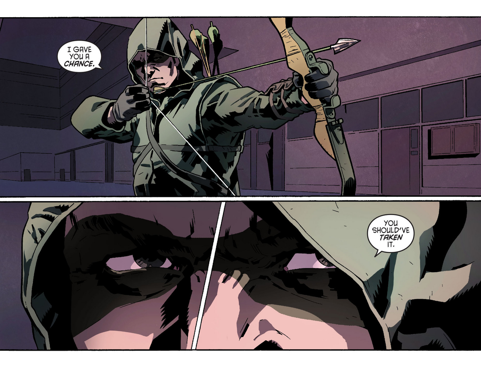 Read online Arrow [II] comic -  Issue #2 - 11