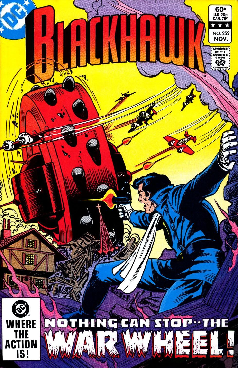 Read online Blackhawk (1957) comic -  Issue #252 - 1