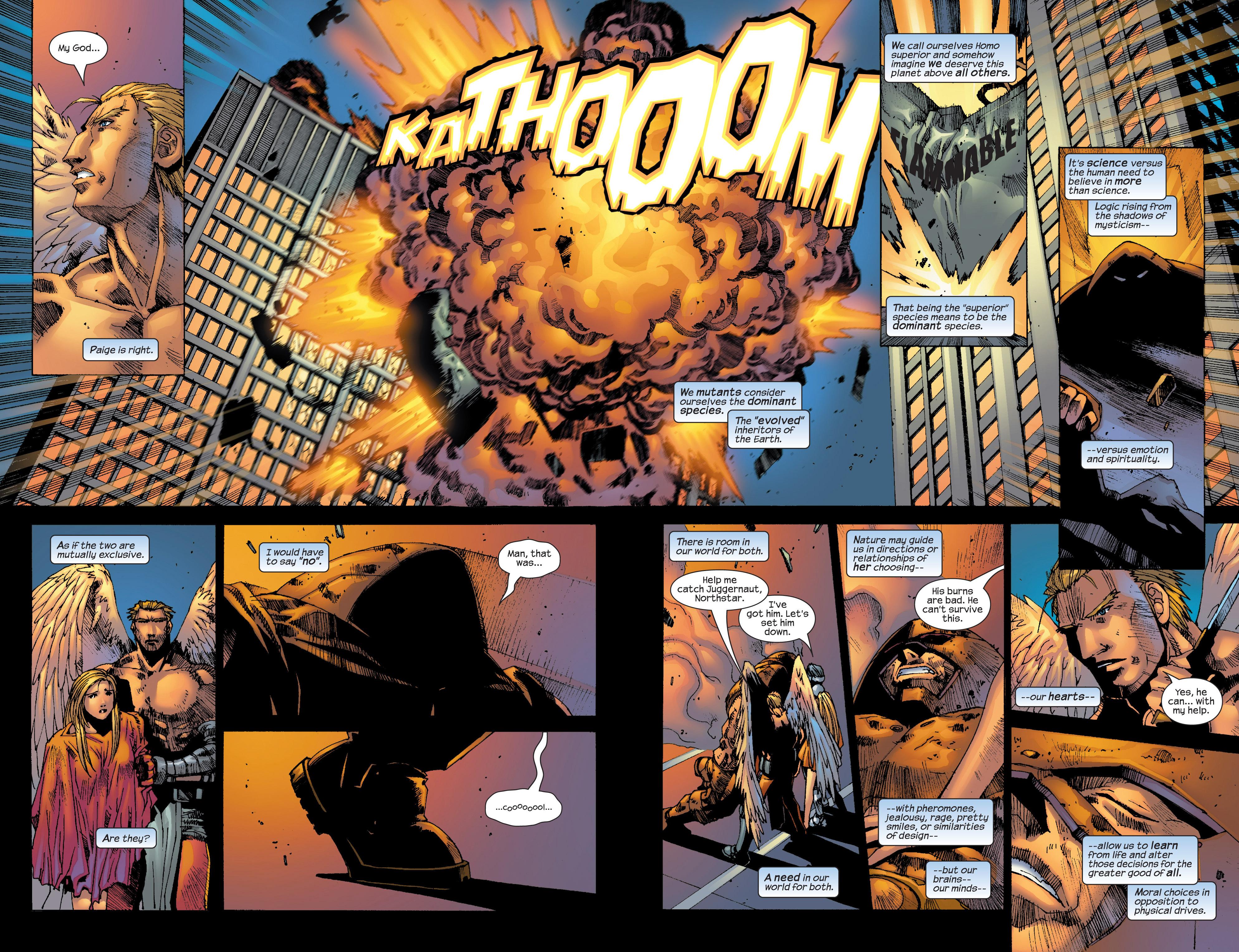 Read online Uncanny X-Men (1963) comic -  Issue #420 - 22