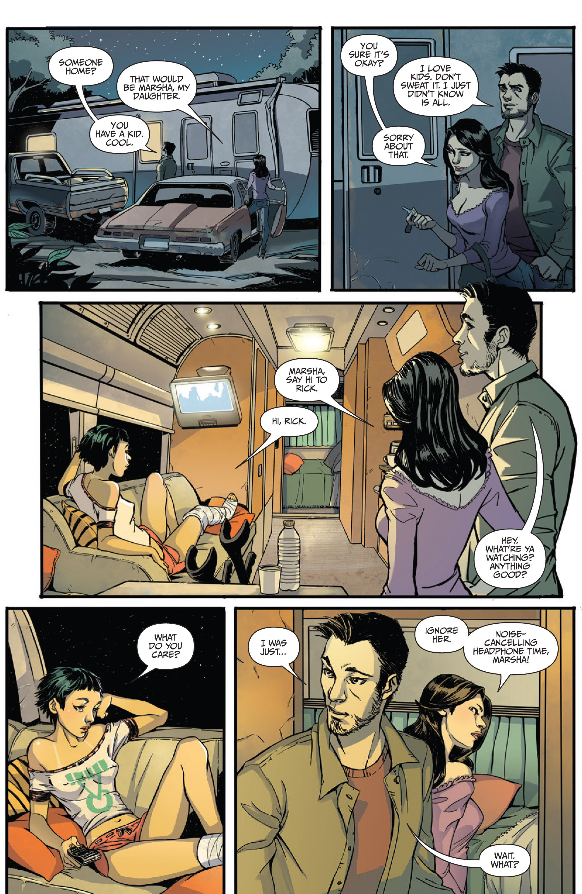 Read online Sex and Violence Vol. 2 comic -  Issue # Full - 4
