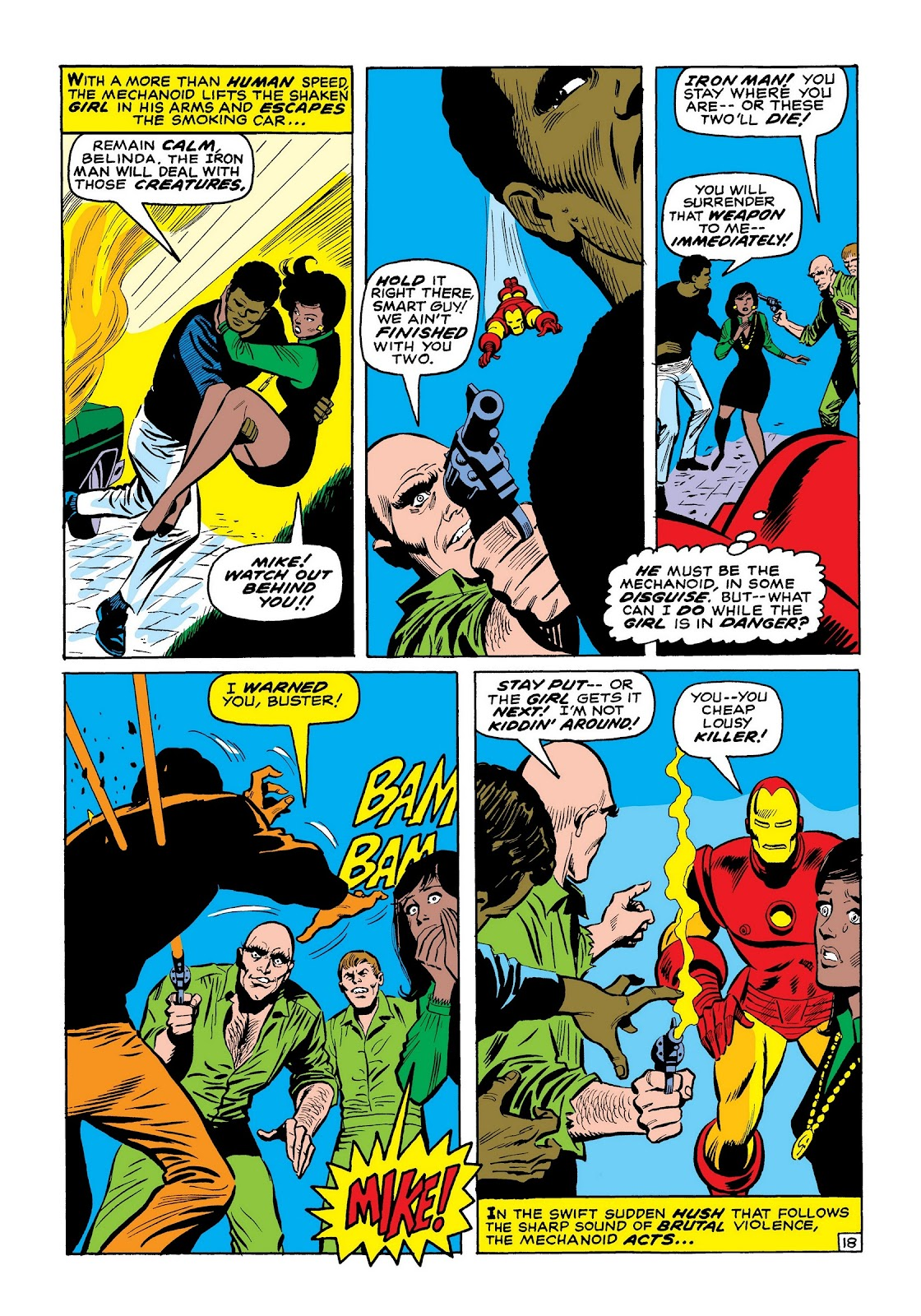 Read online Marvel Masterworks: The Invincible Iron Man comic -  Issue # TPB 7 (Part 2) - 46