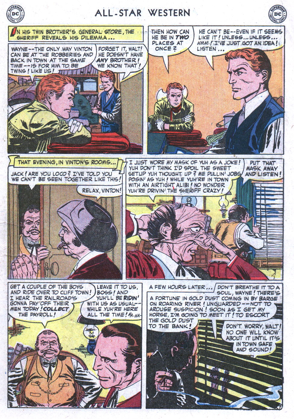 Read online All-Star Western (1951) comic -  Issue #59 - 9