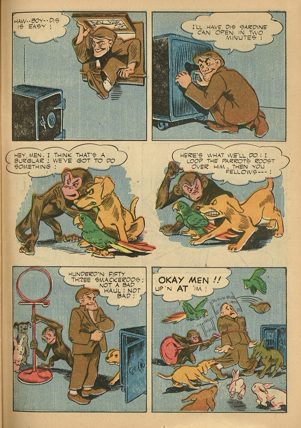 Read online Animal Comics comic -  Issue #24 - 47