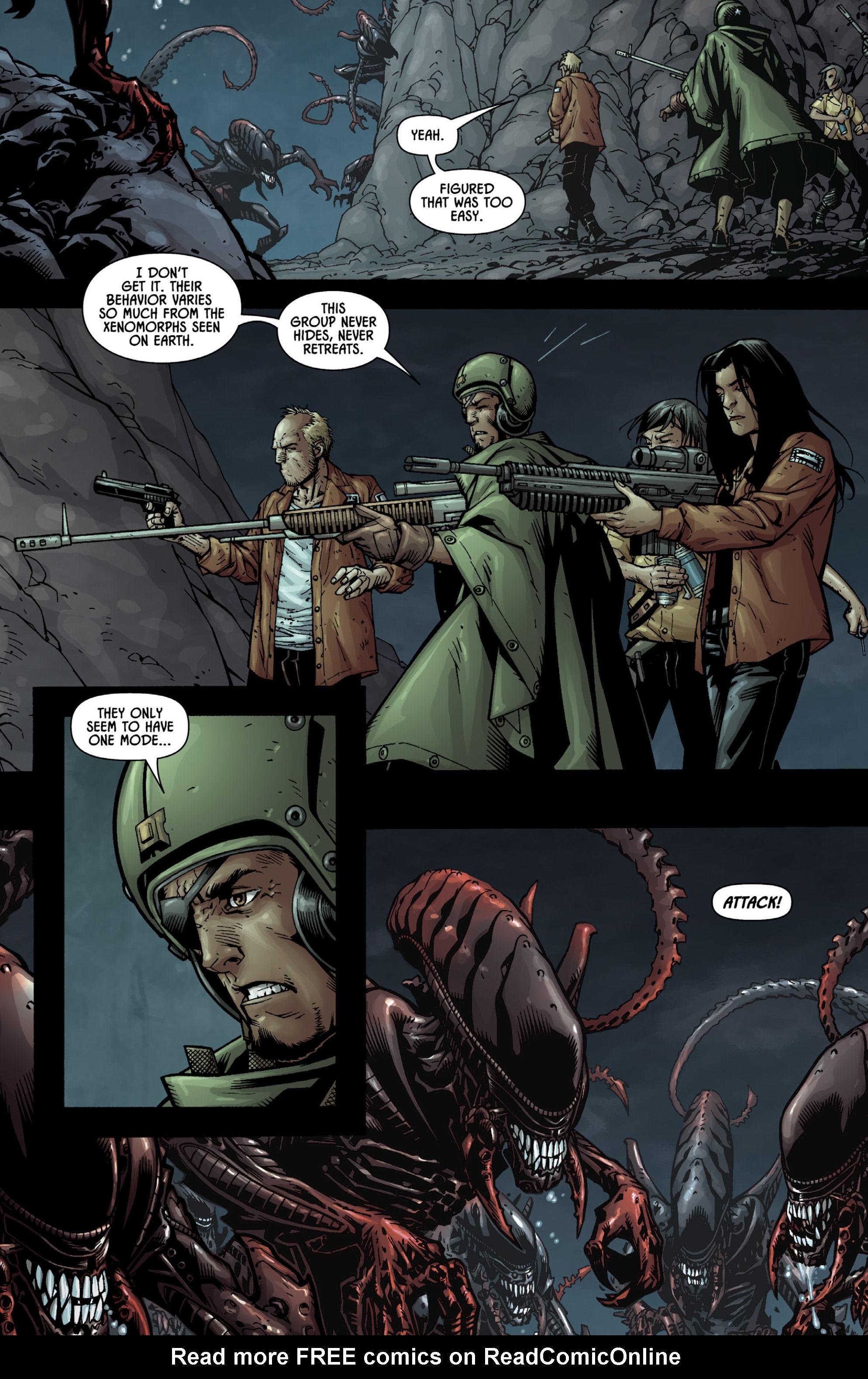 Read online Aliens (2009) comic -  Issue # TPB - 87