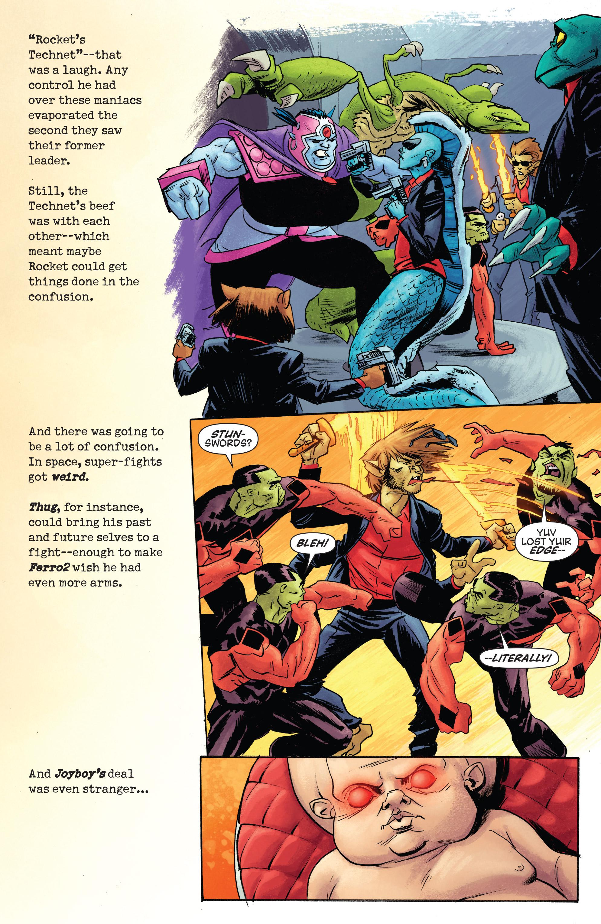 Read online Rocket comic -  Issue #2 - 6
