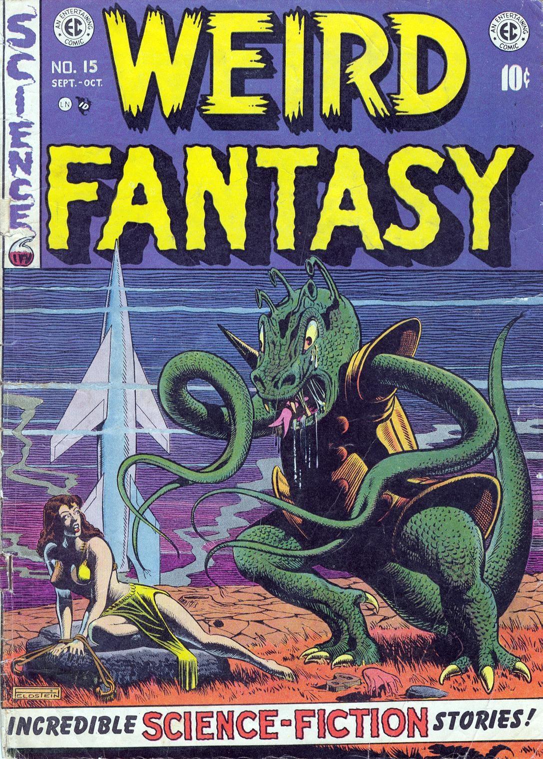 Weird Fantasy (1951) issue 15 - Page 1