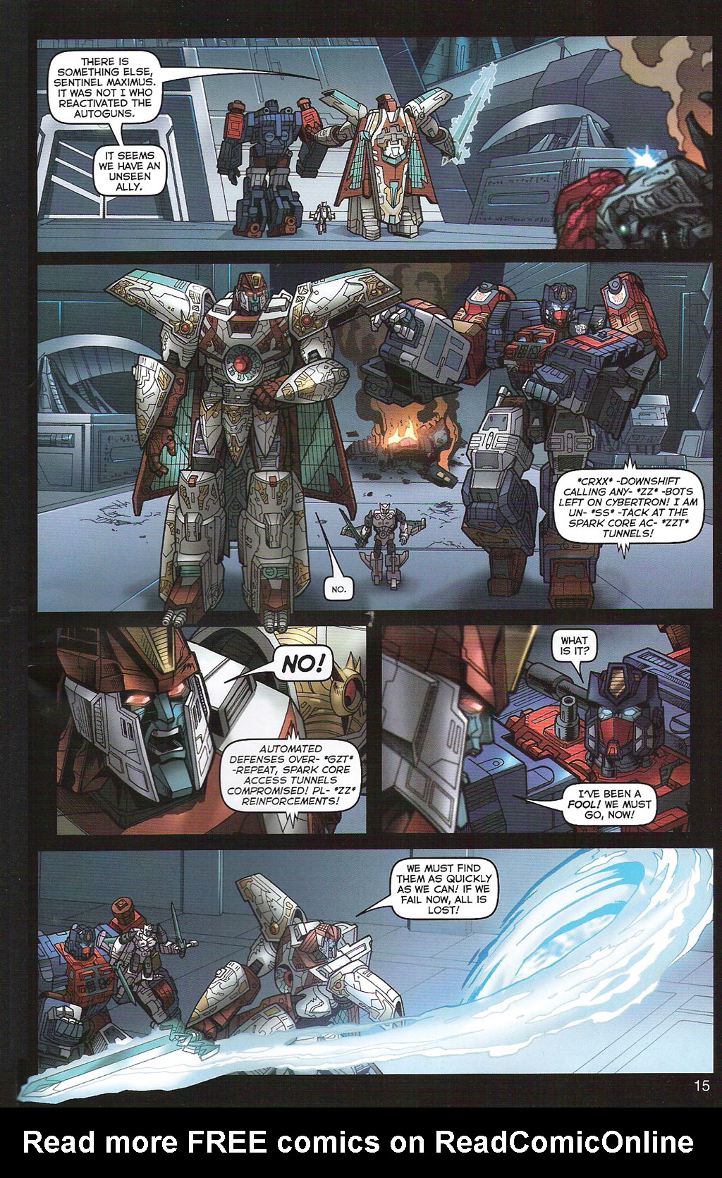 Read online Transformers: Collectors' Club comic -  Issue #5 - 15