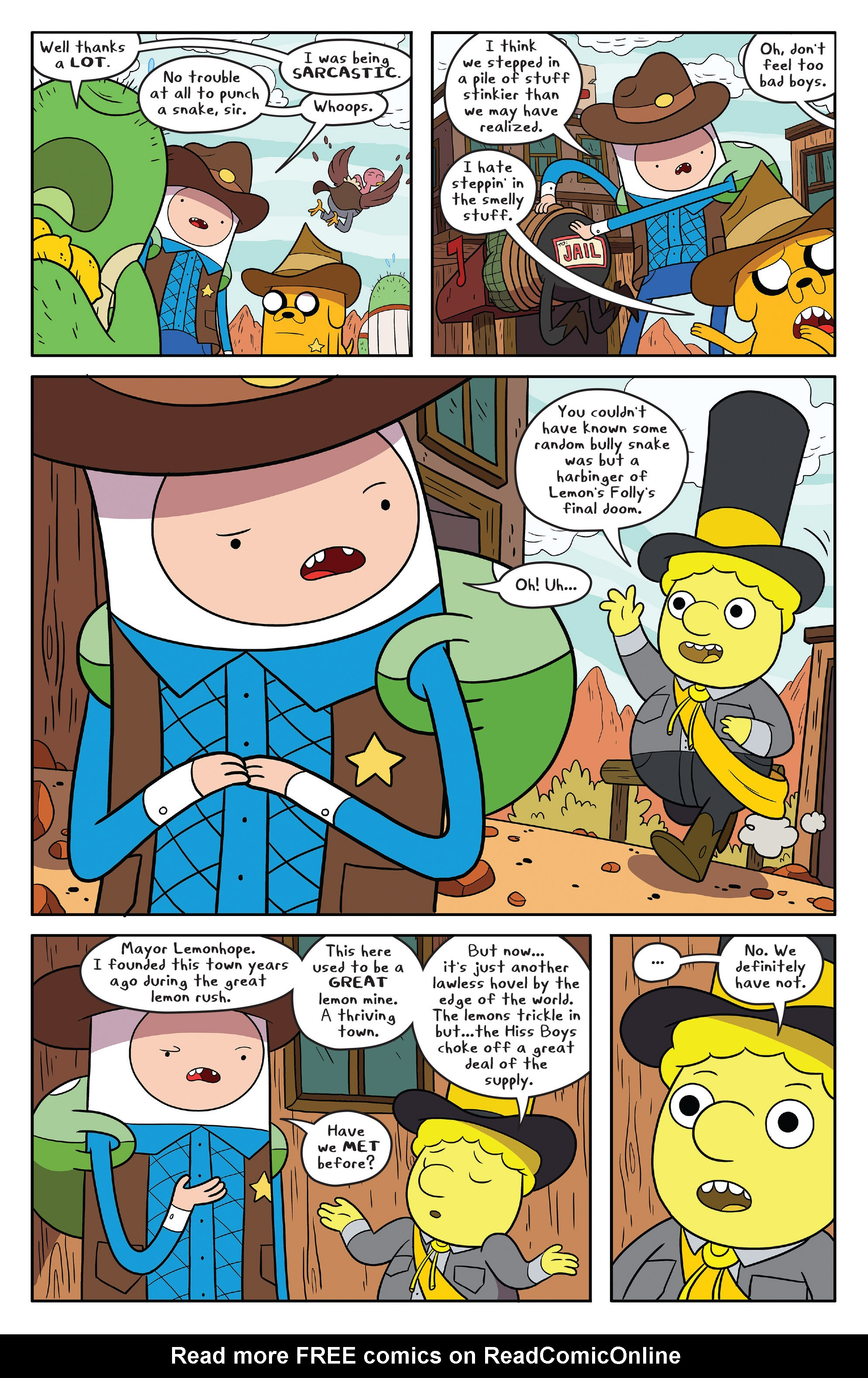 Read online Adventure Time comic -  Issue #54 - 13