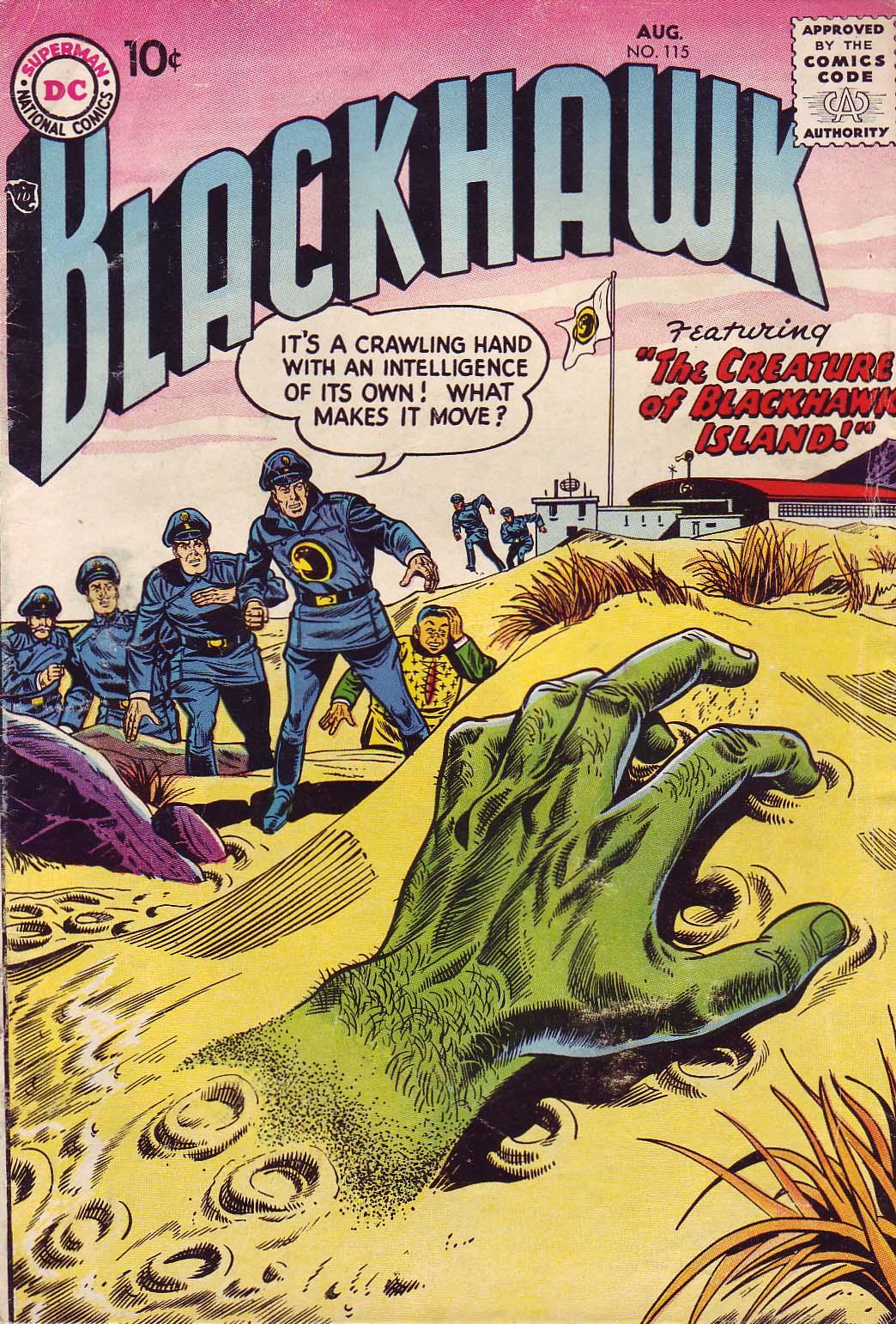 Blackhawk (1957) 115 Page 1