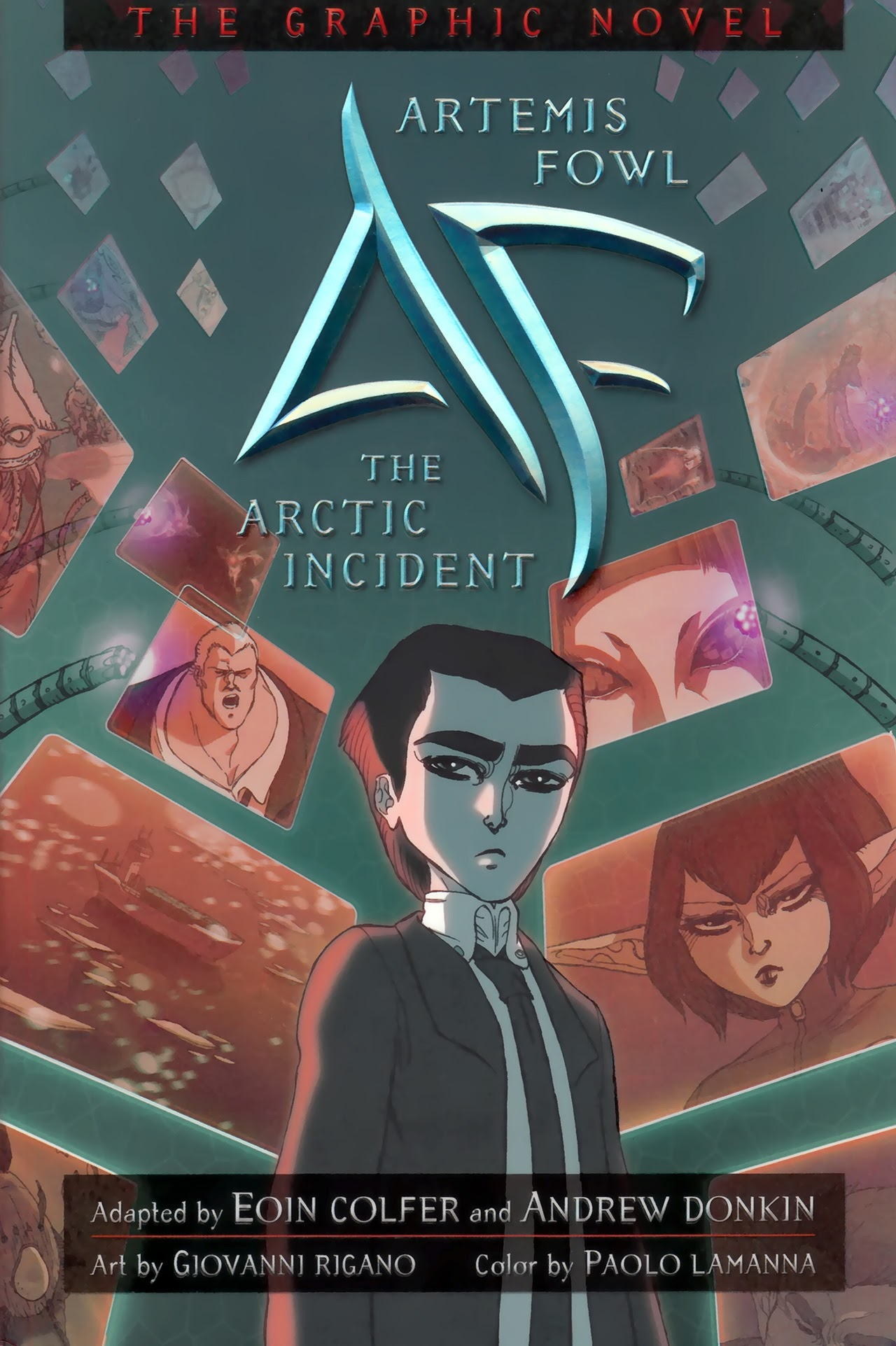 Artemis Fowl: The Arctic Incident TPB Page 1