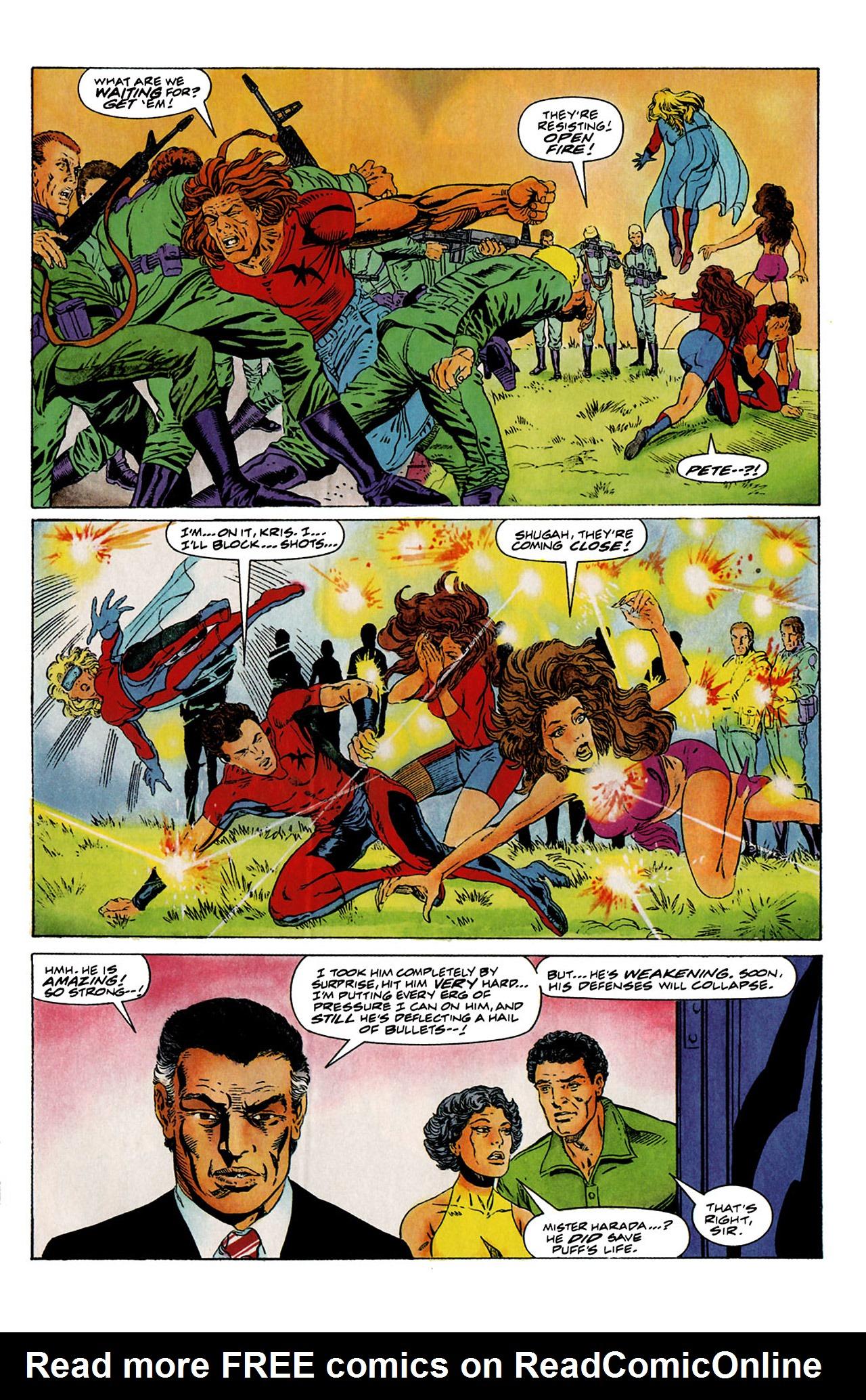 Read online Harbinger (1992) comic -  Issue #6 - 6