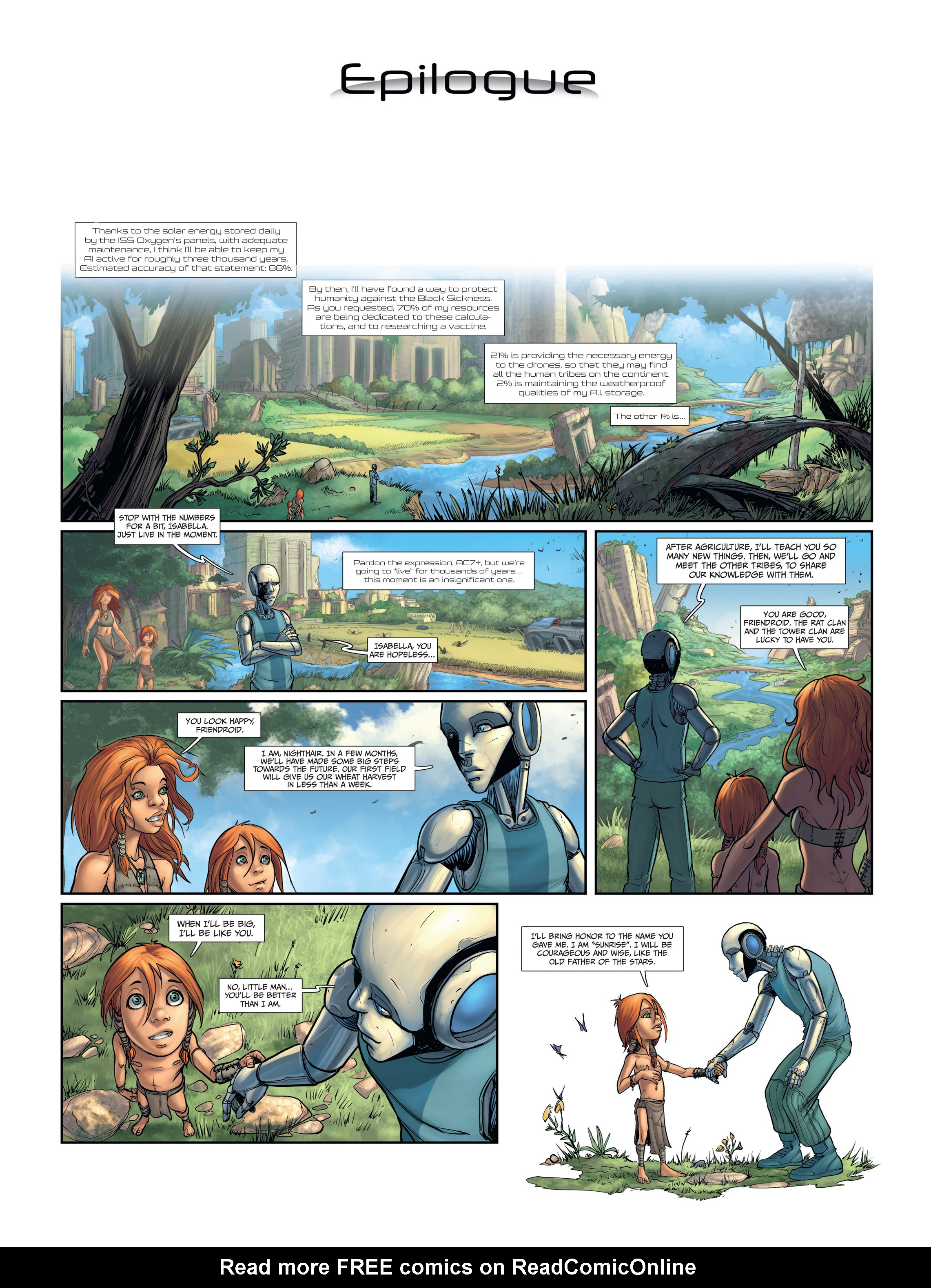 Read online Androïds comic -  Issue #2 - 50