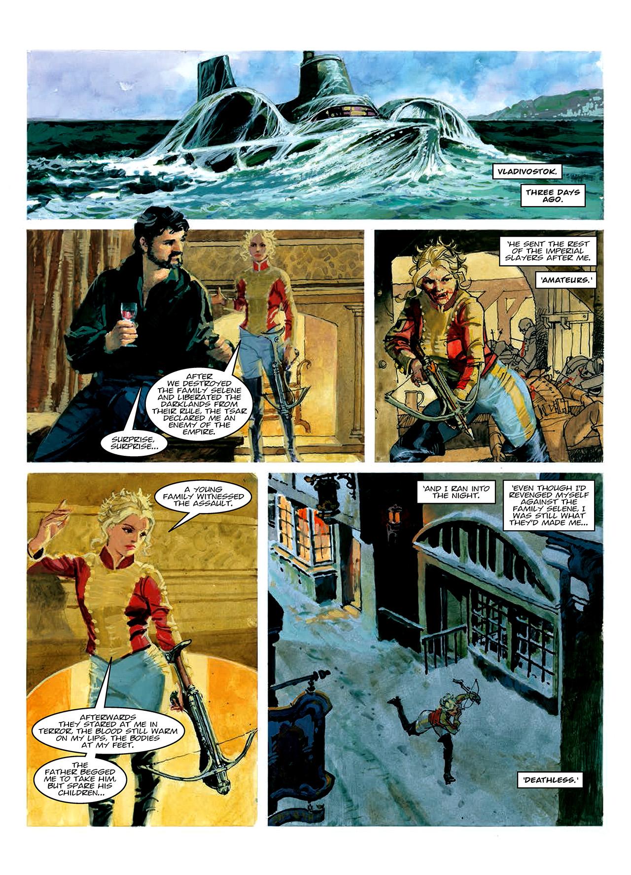 Read online Nikolai Dante comic -  Issue # TPB 10 - 172