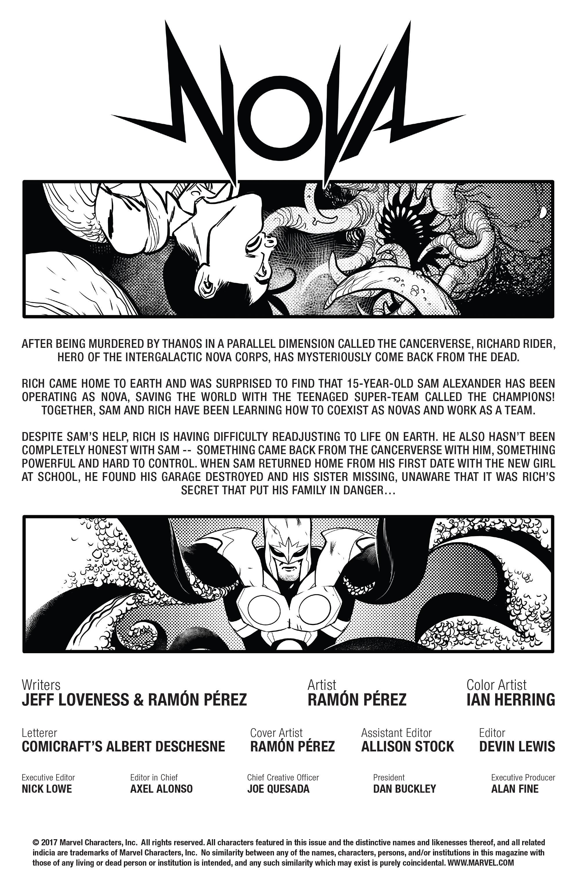 Read online Nova (2017) comic -  Issue #5 - 2