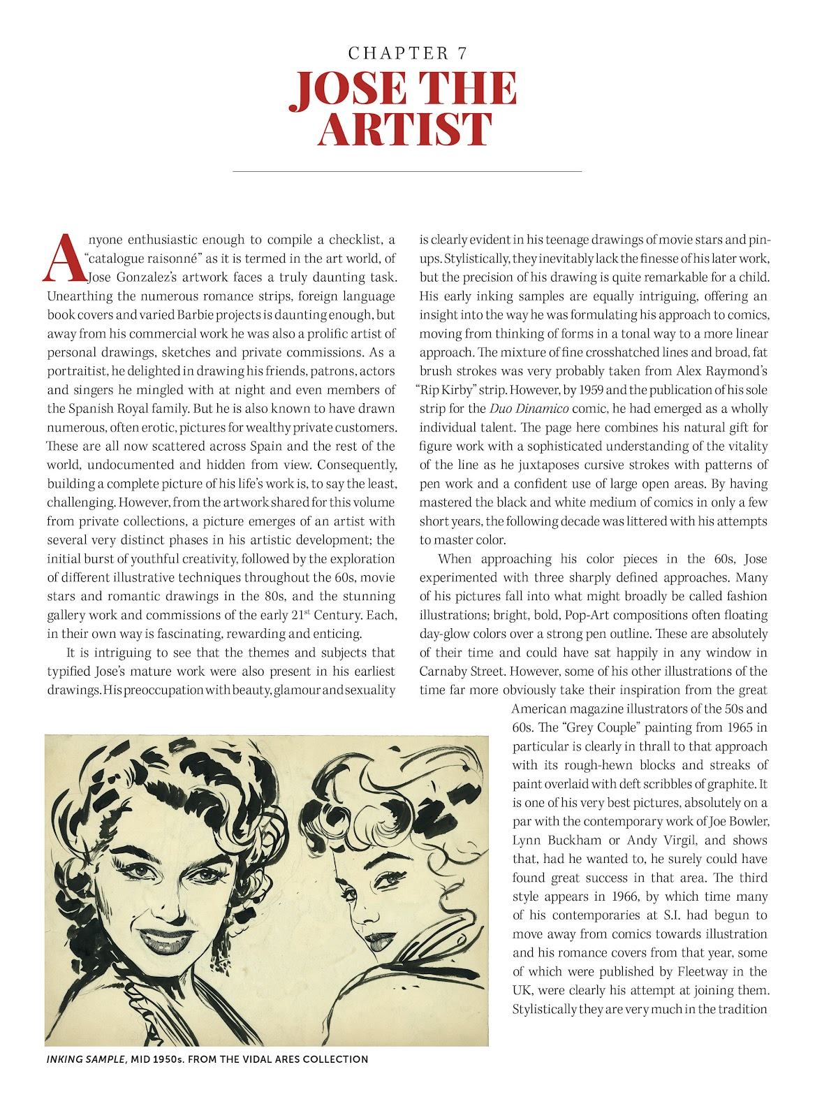 Read online The Art of Jose Gonzalez comic -  Issue # TPB (Part 2) - 86