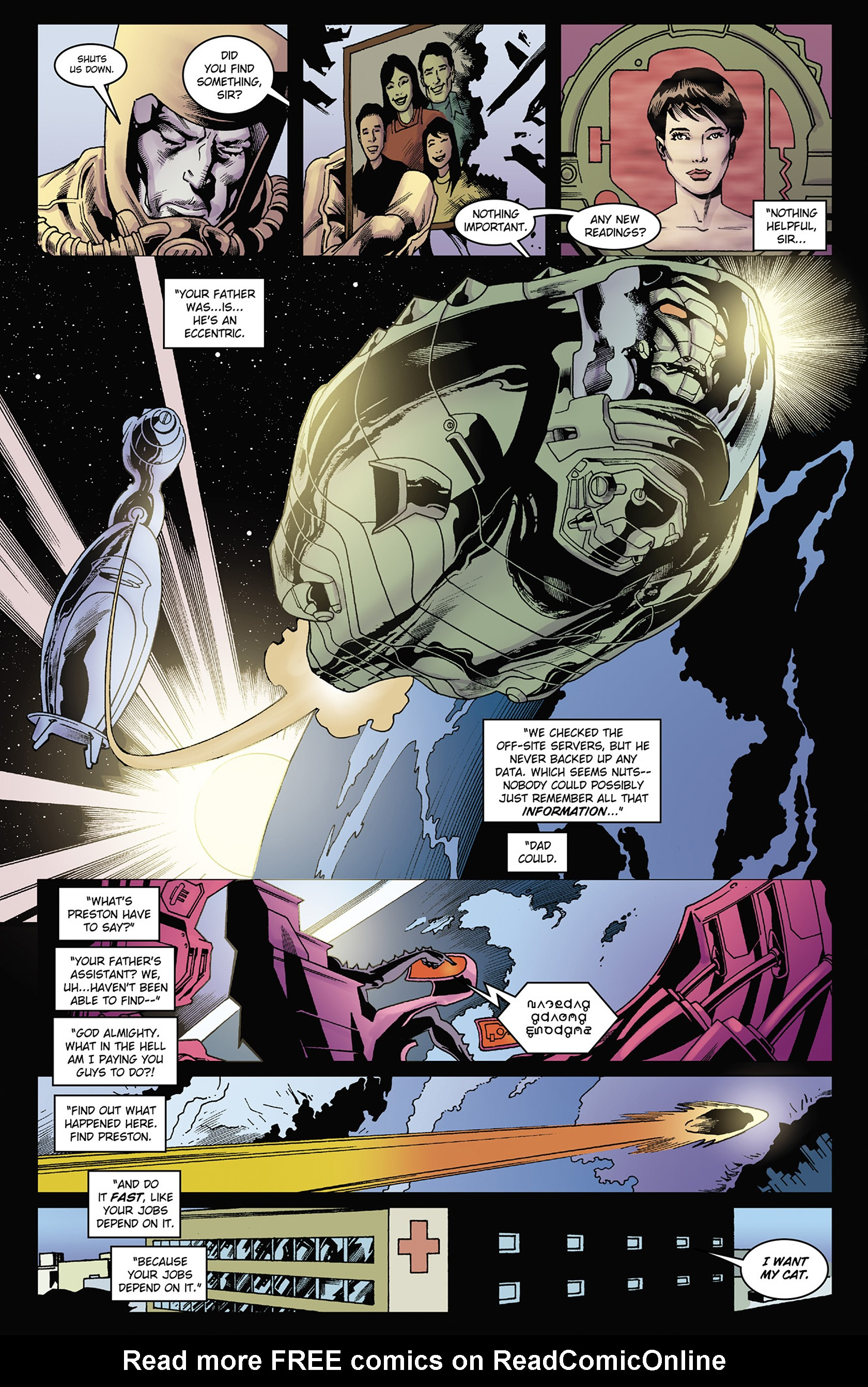 Read online Solar: Man of the Atom (2014) comic -  Issue #2 - 9