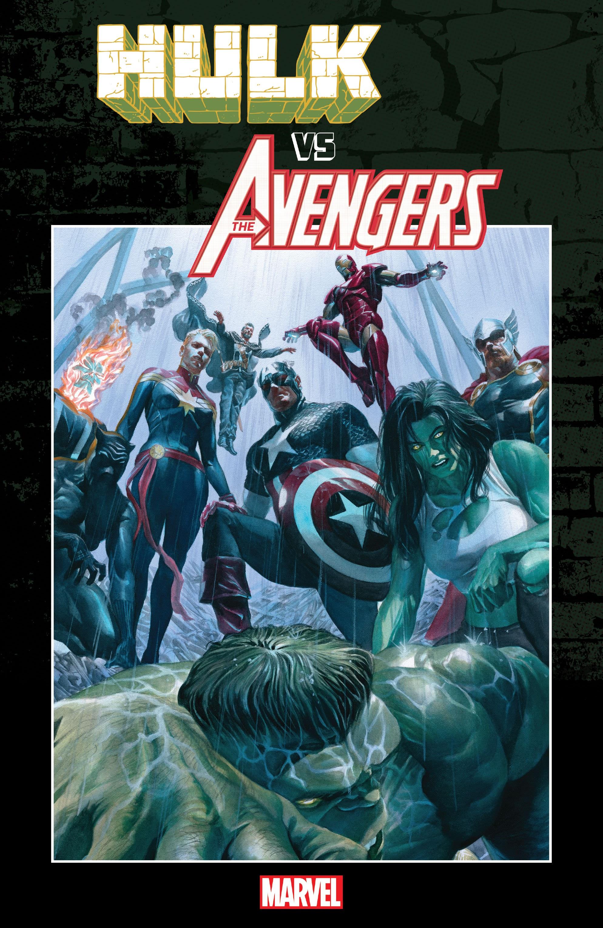 Hulk vs. The Avengers TPB Page 1