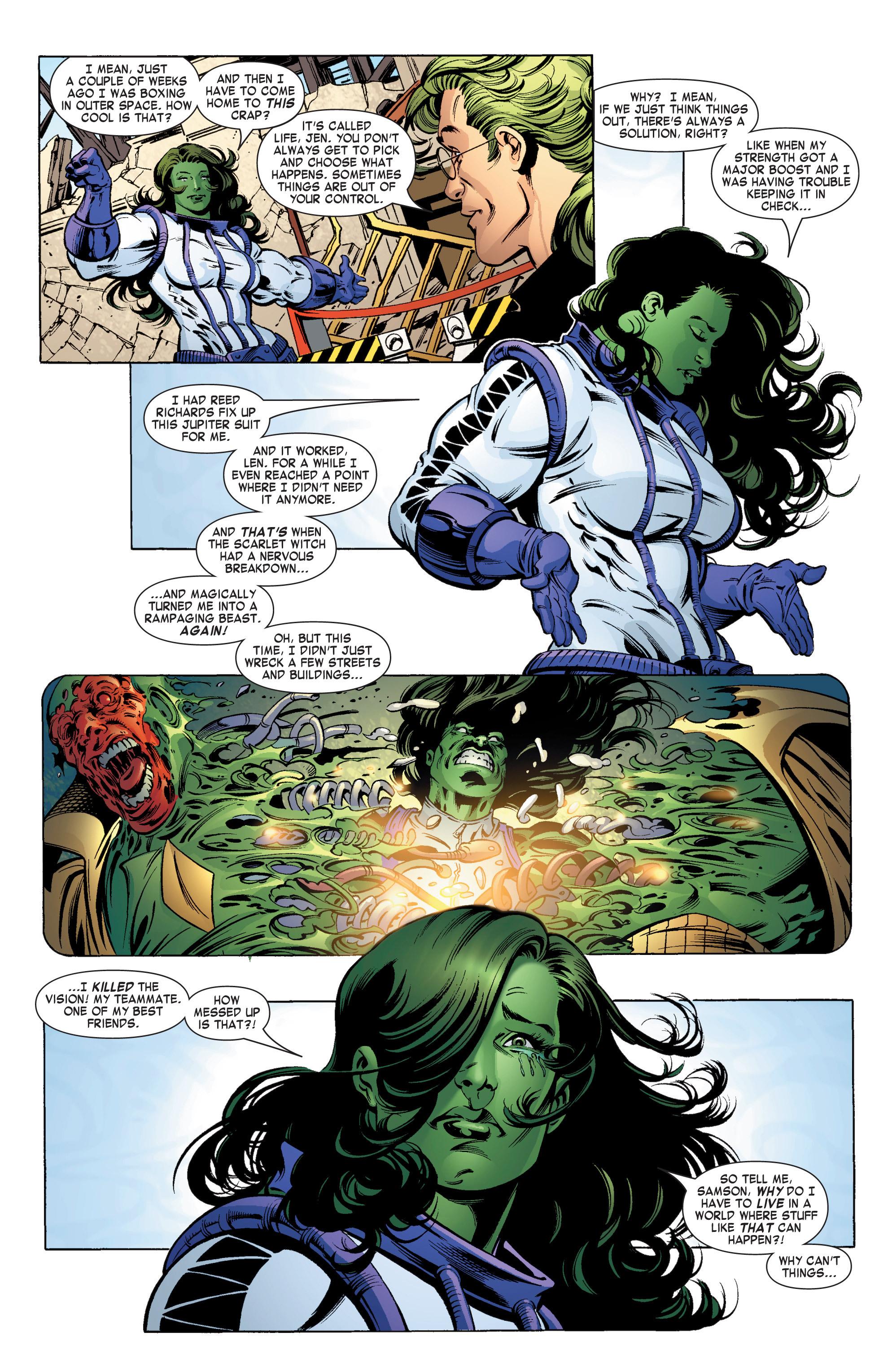 Read online She-Hulk (2004) comic -  Issue #11 - 12
