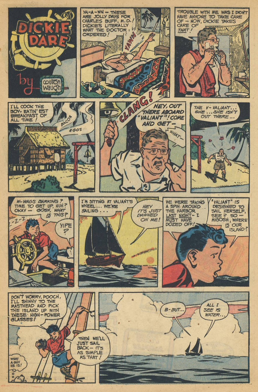 Read online Famous Funnies comic -  Issue #214 - 19