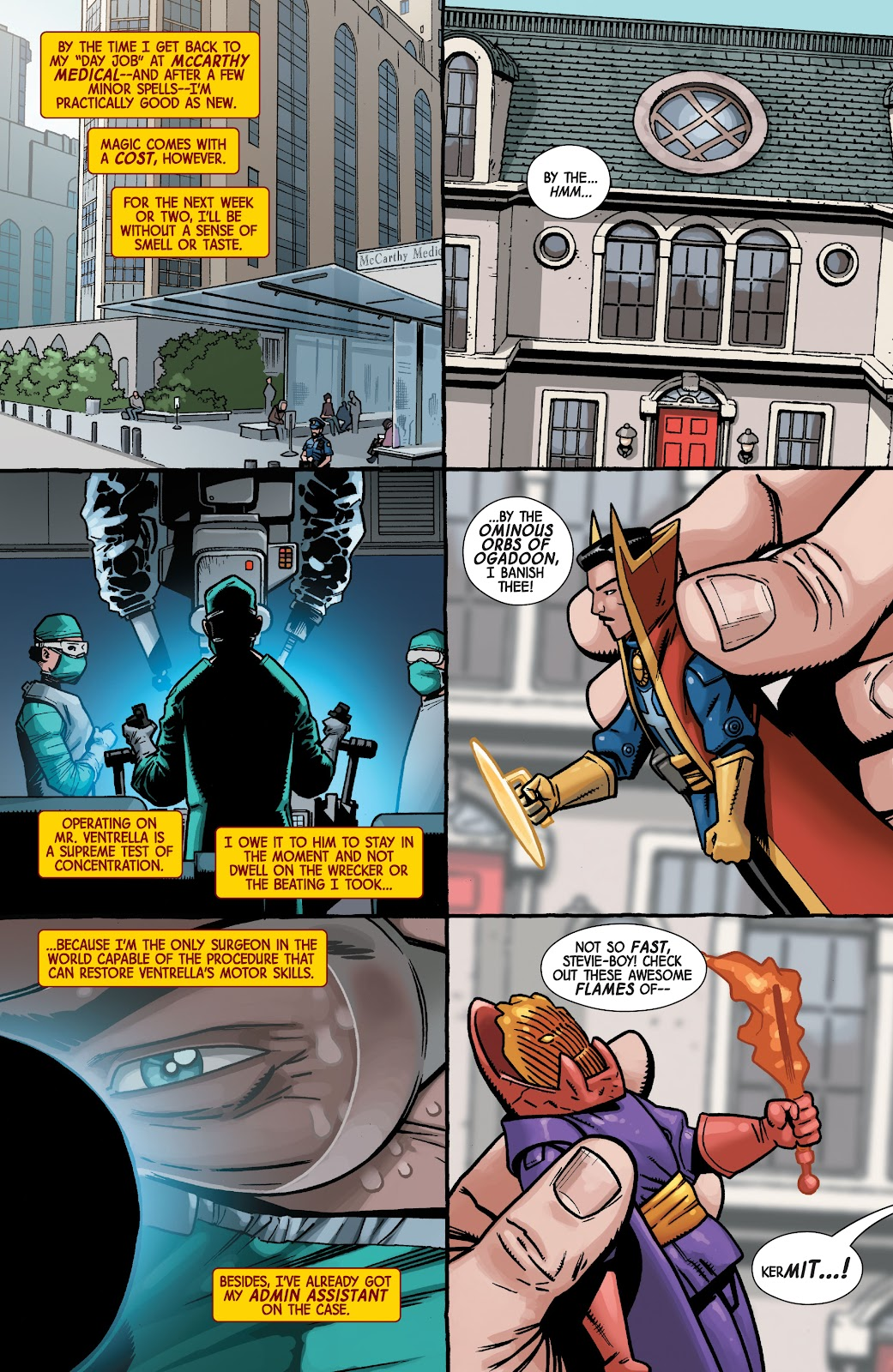 Read online Dr. Strange comic -  Issue #2 - 7