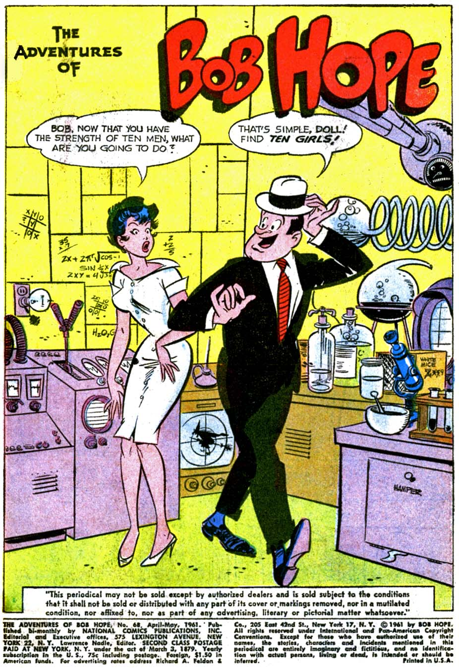 The Adventures of Bob Hope issue 68 - Page 3